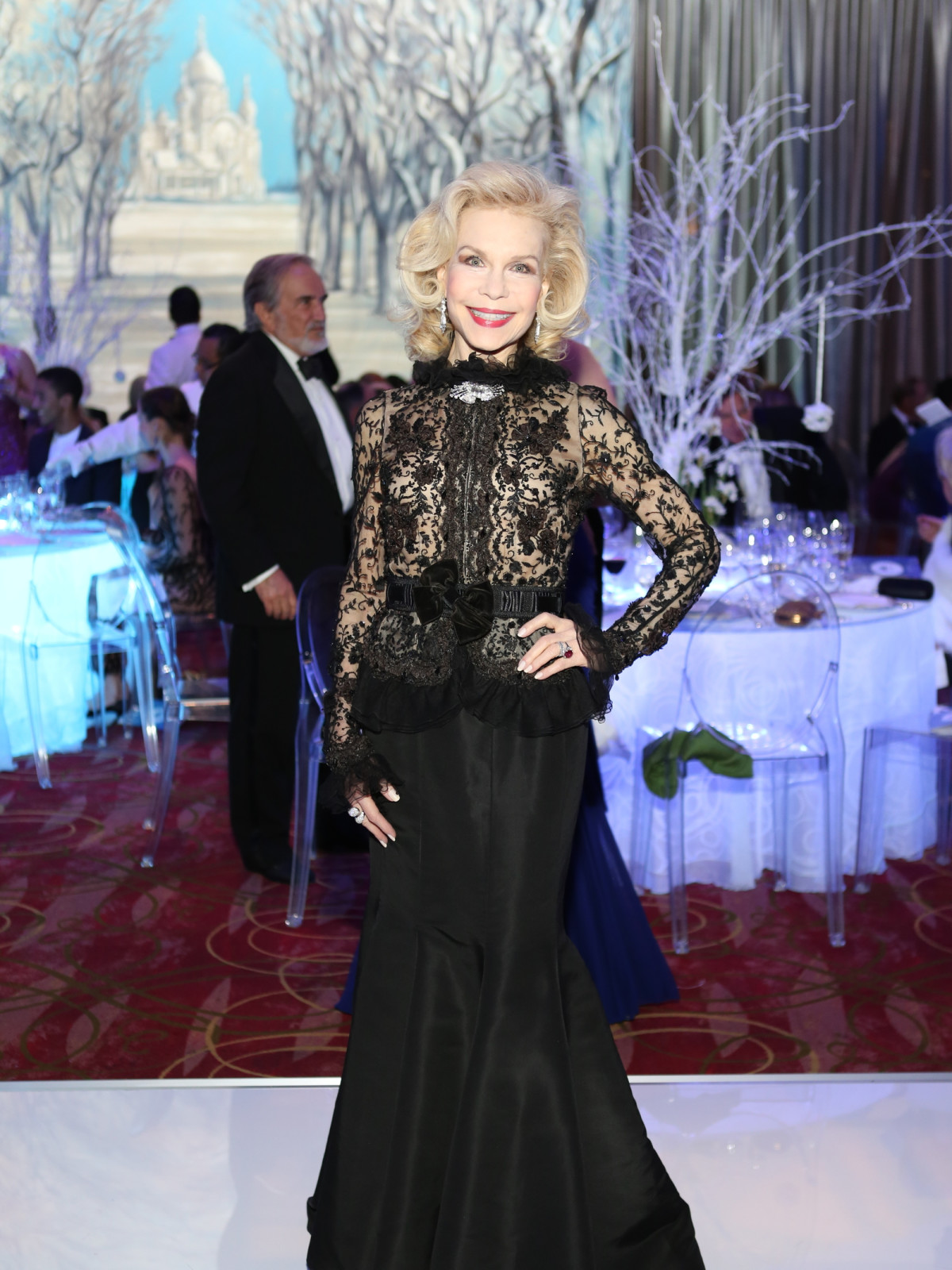 Houston Ballet Ball, Feb. 2016, Lynn Wyatt