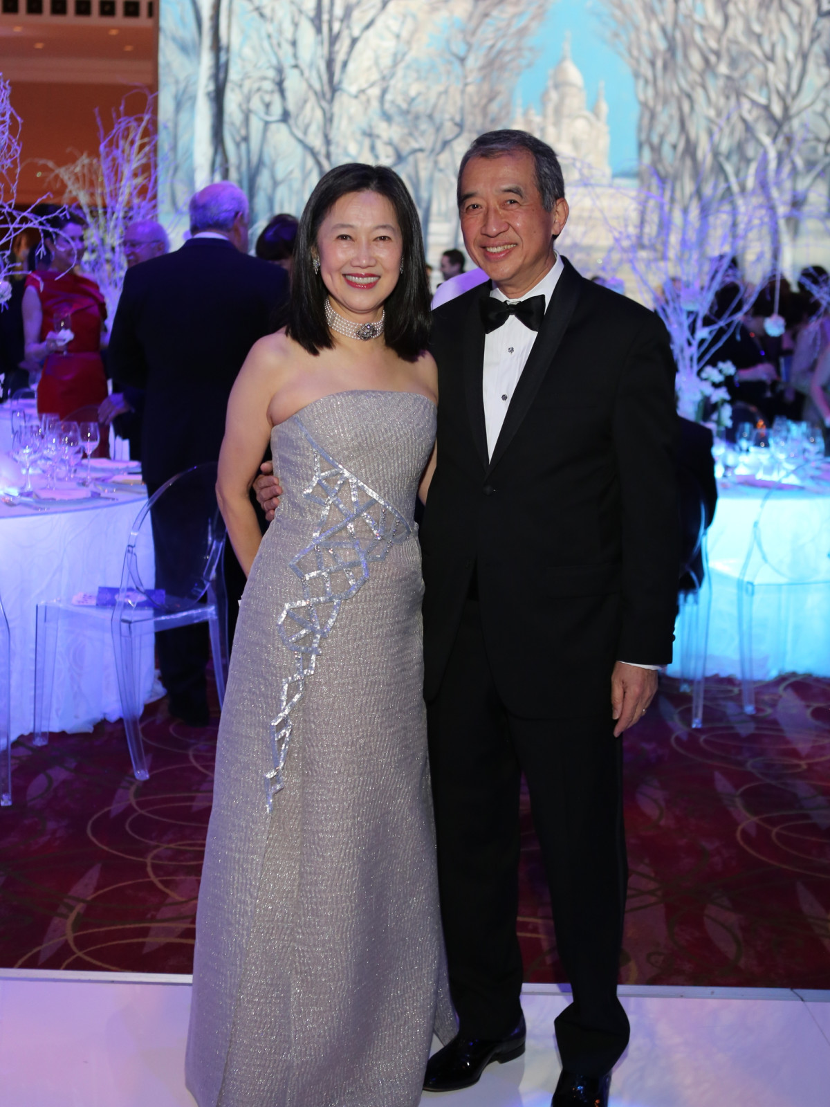 Houston Ballet Ball, Feb. 2016,  Anne Chao