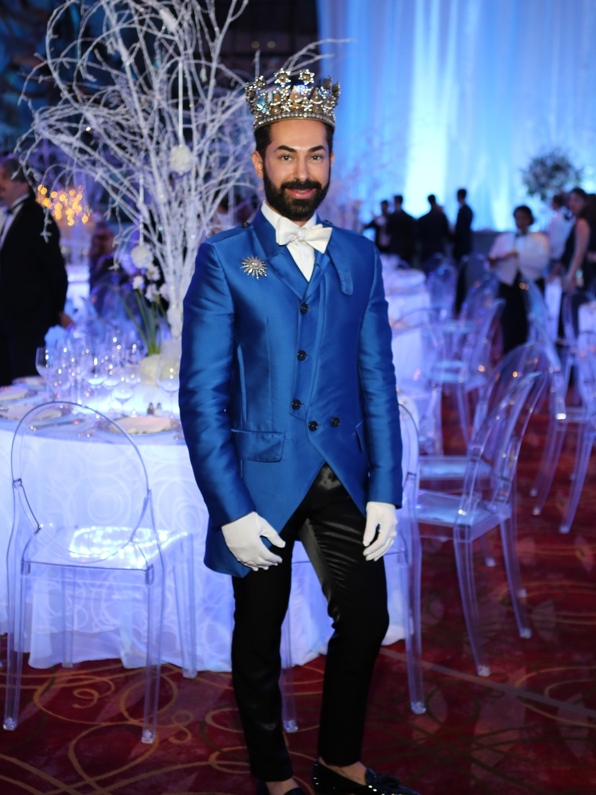 Houston Ballet Ball, Feb. 2016,  Fady Armanious