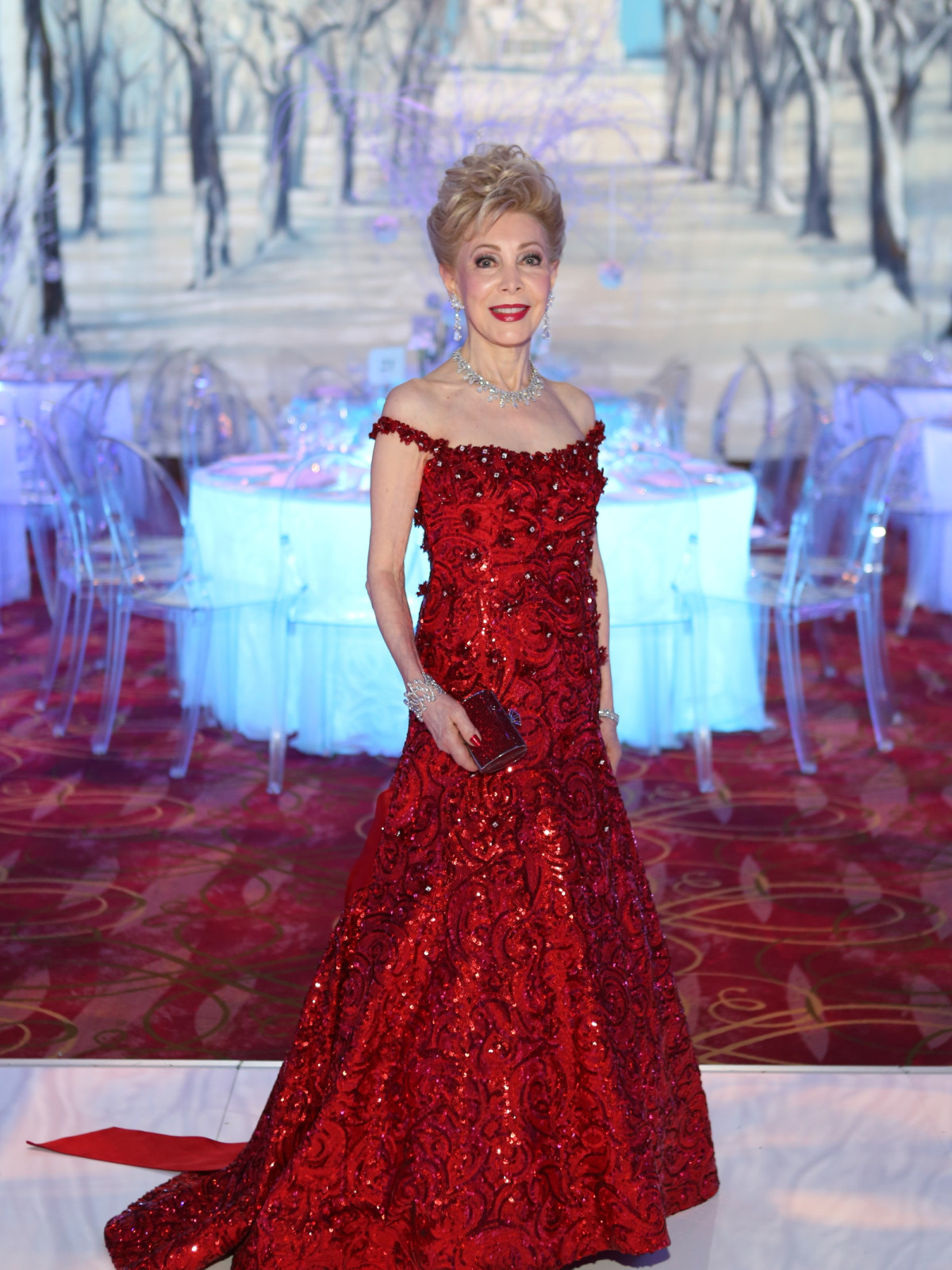 Houston Ballet Ball, Feb. 2016,  Margaret Williams