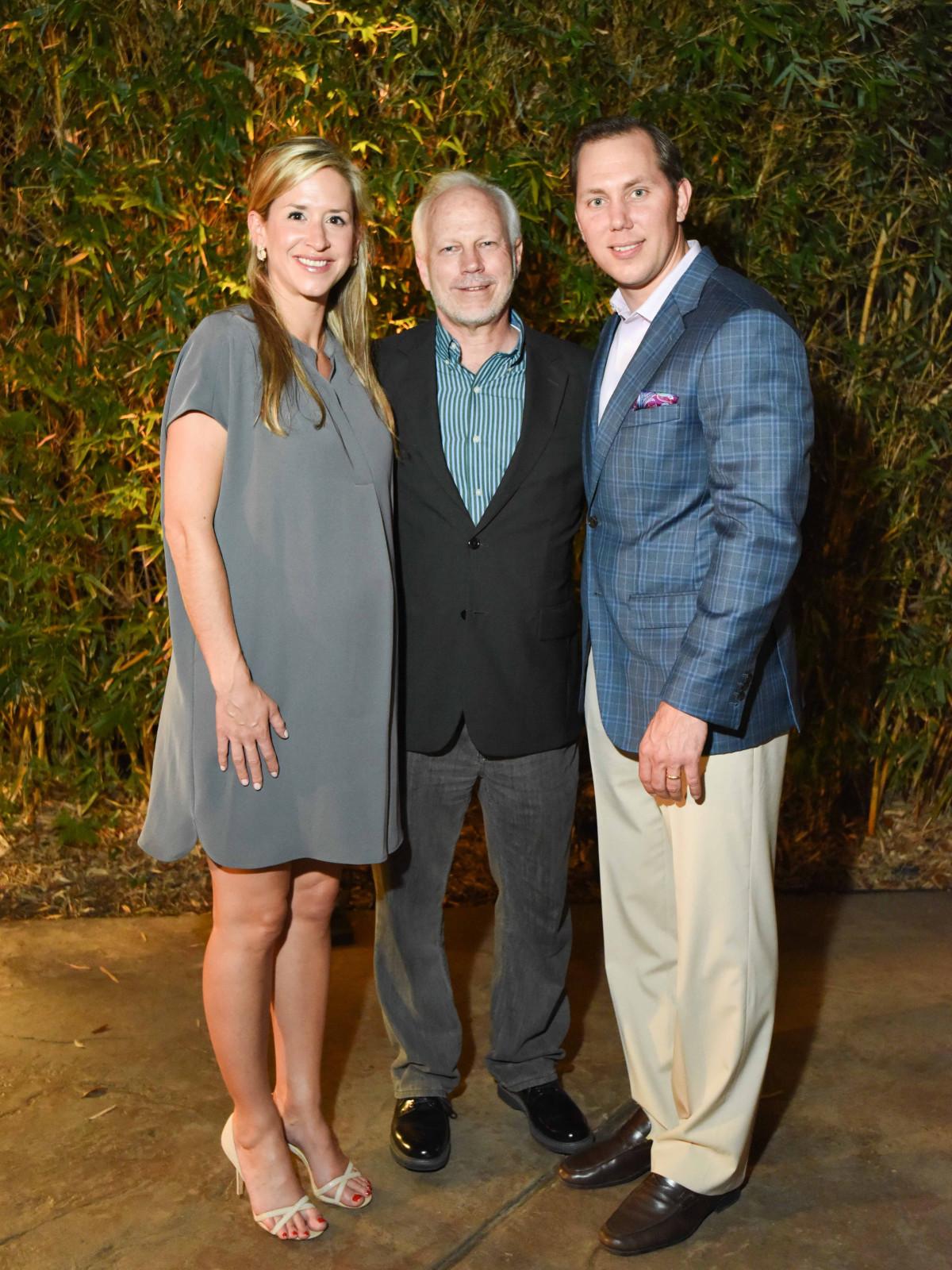 Houston Zoo Ambassadors Gala Courtney Solleveld, Lee Ehmke, Bas Solleveld