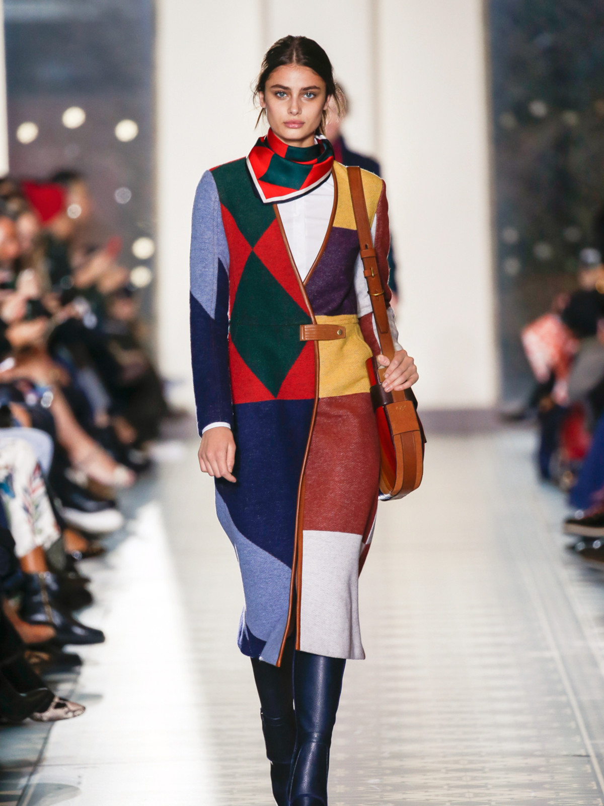 Tory Burch fall 2016 collection Look 1