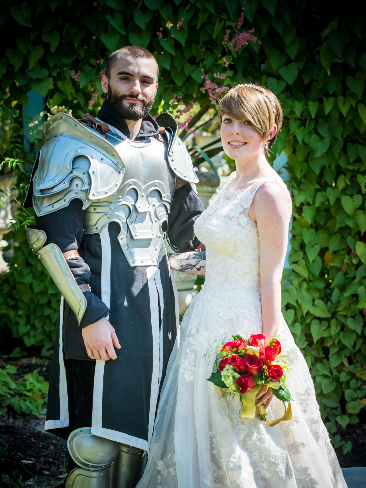 Renaissance Festival Weddings, Feb. 2016 Kalleub Carpenter, Ariel Timmons