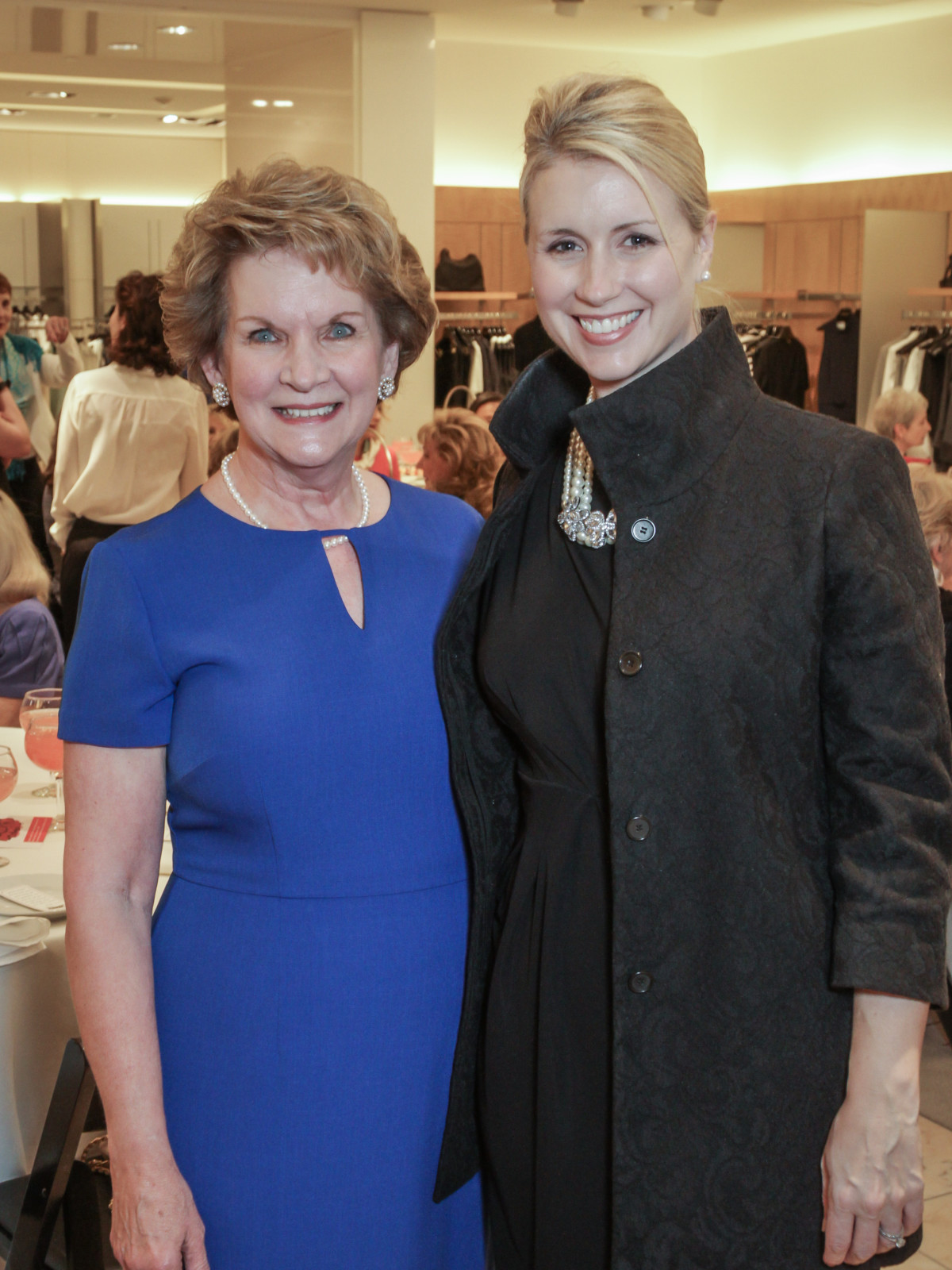 March of Dimes Tea, Feb. 2016 Jane Wise Sarah Wise