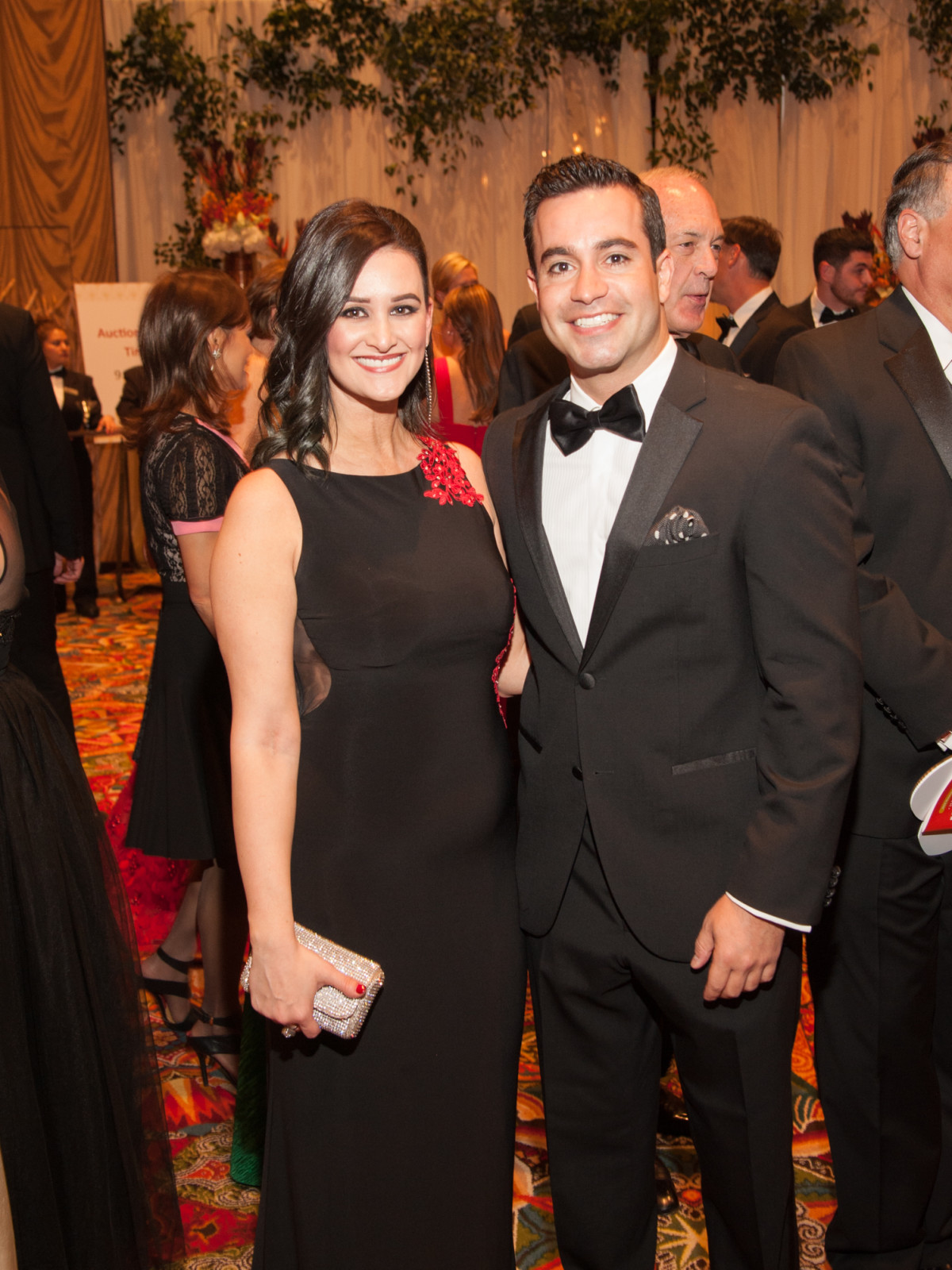 Heart Ball, Feb. 2016, Lauren Finkelstein, Scott Zamir