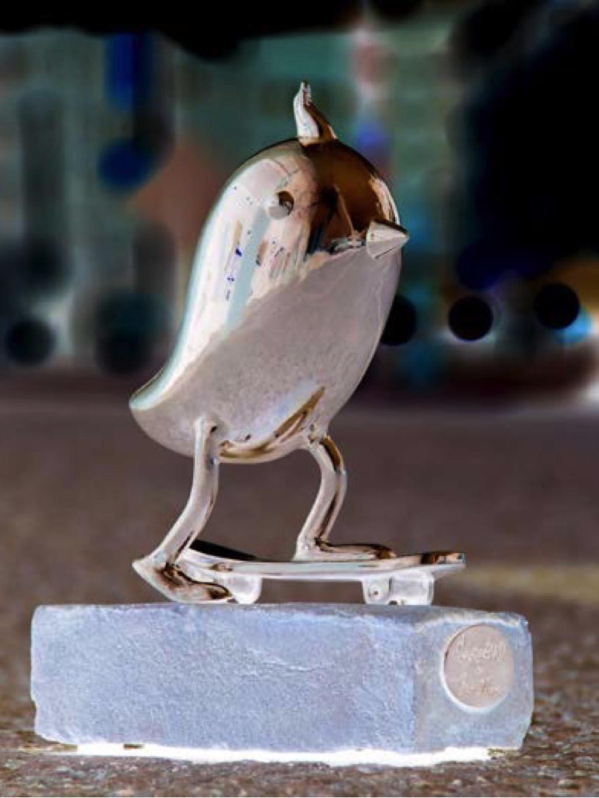 Brad Oldham Skater Bird for CVB