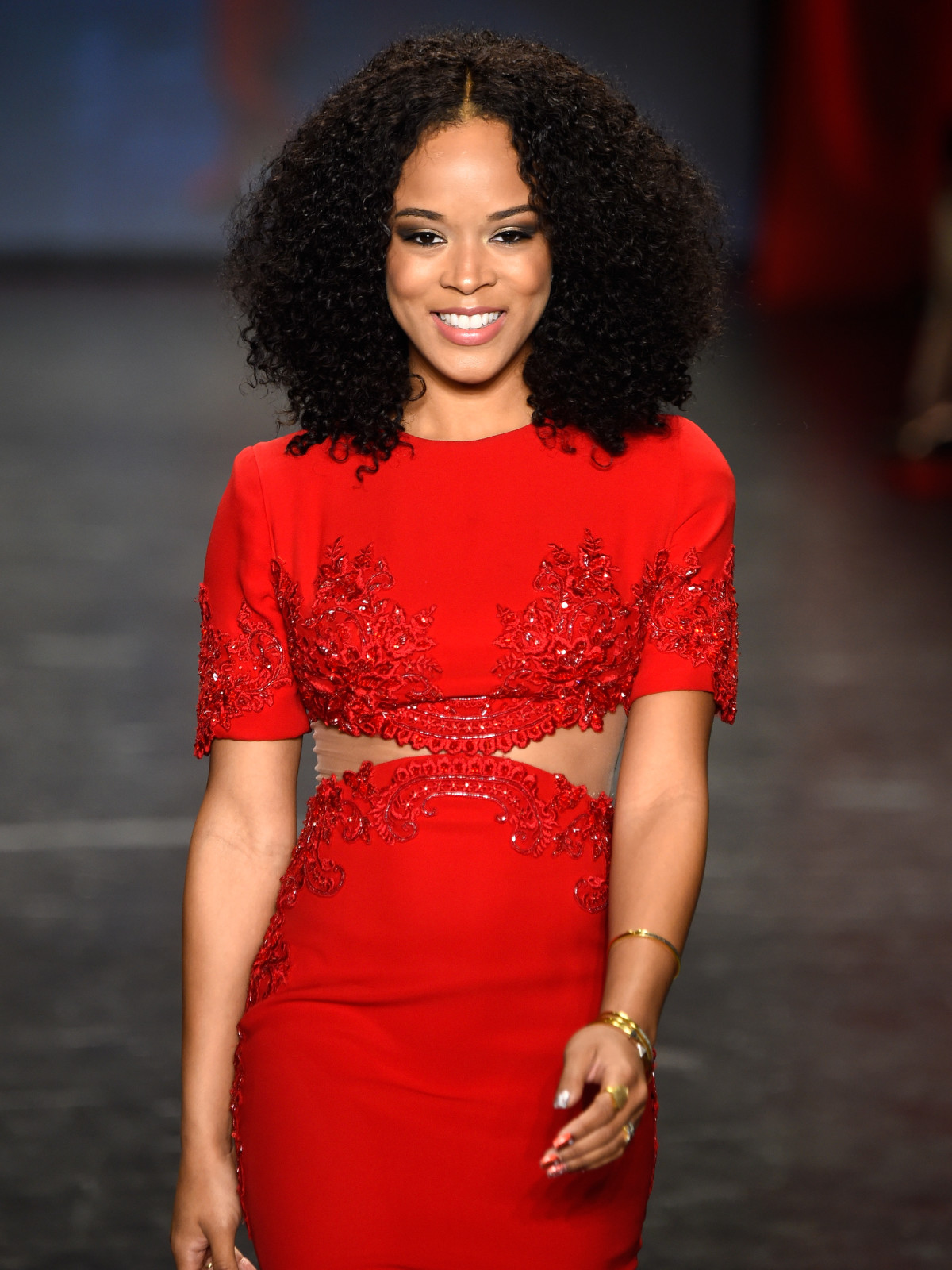 Serayah at American Heart Association's Go Red For Women Red Dress Collection 2016