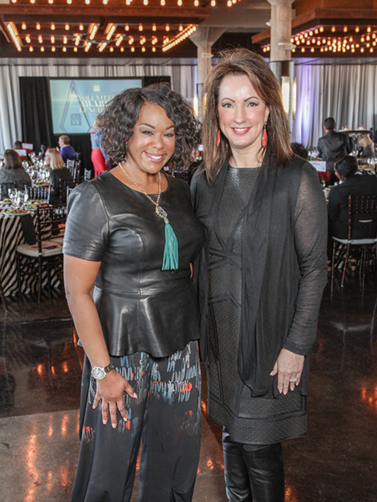 Greater Houston Women's Chamber of Commerce luncheon, Feb. 2016, Deborah Duncan, Alicia Smith