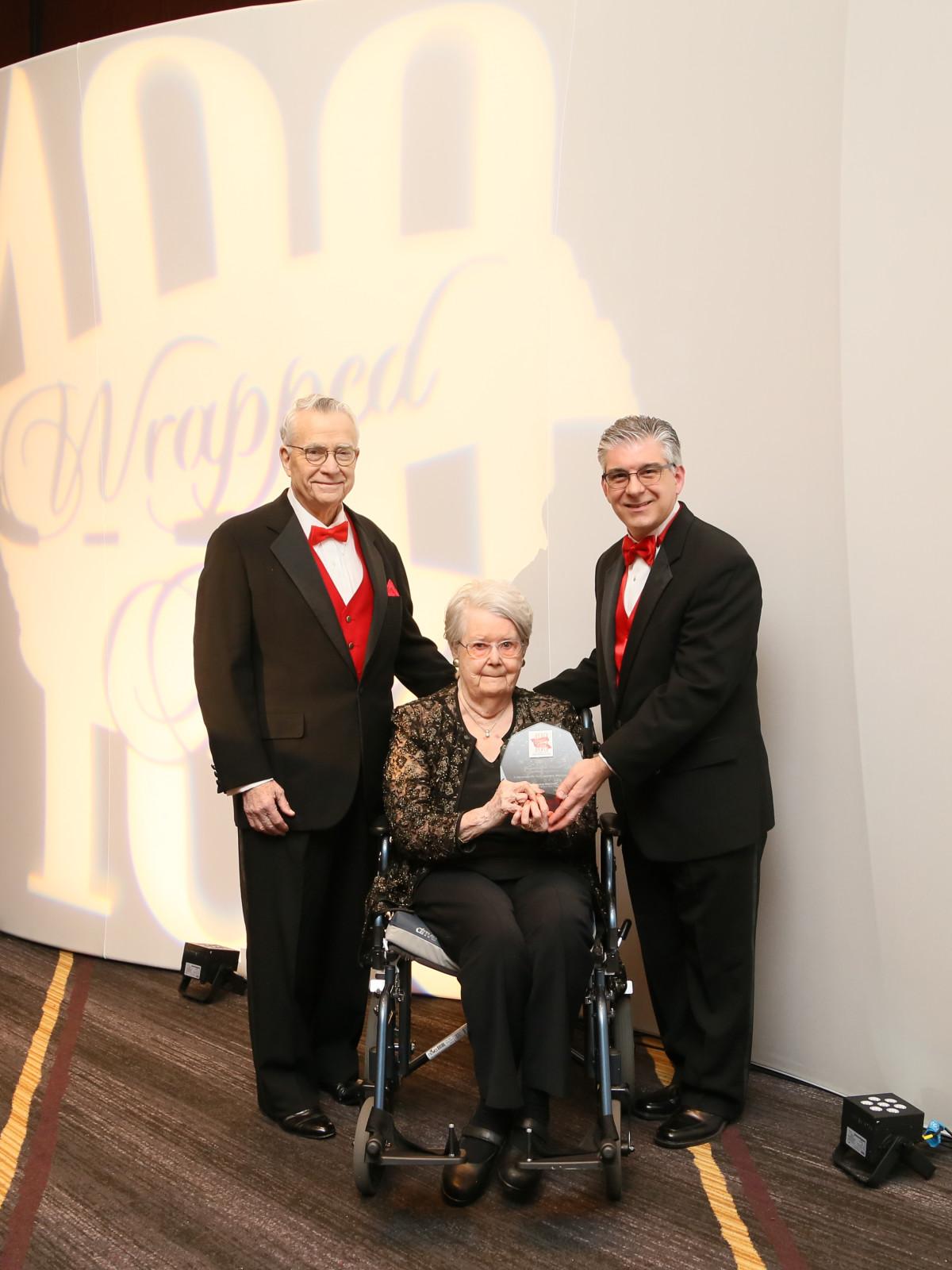 Red Cross Ball, Feb. 2016, Gene McDavid, Betty McDavid, Steve Vetrano