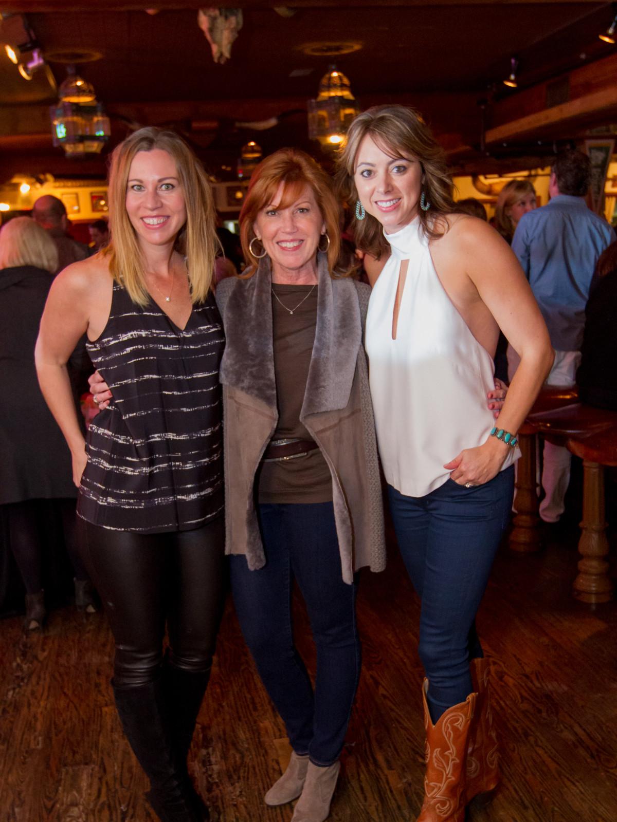Cattle Barons Gentlemans Committe, Feb. 2016 Allison Flikerski, Gigi Harbison, Lauren Maloy