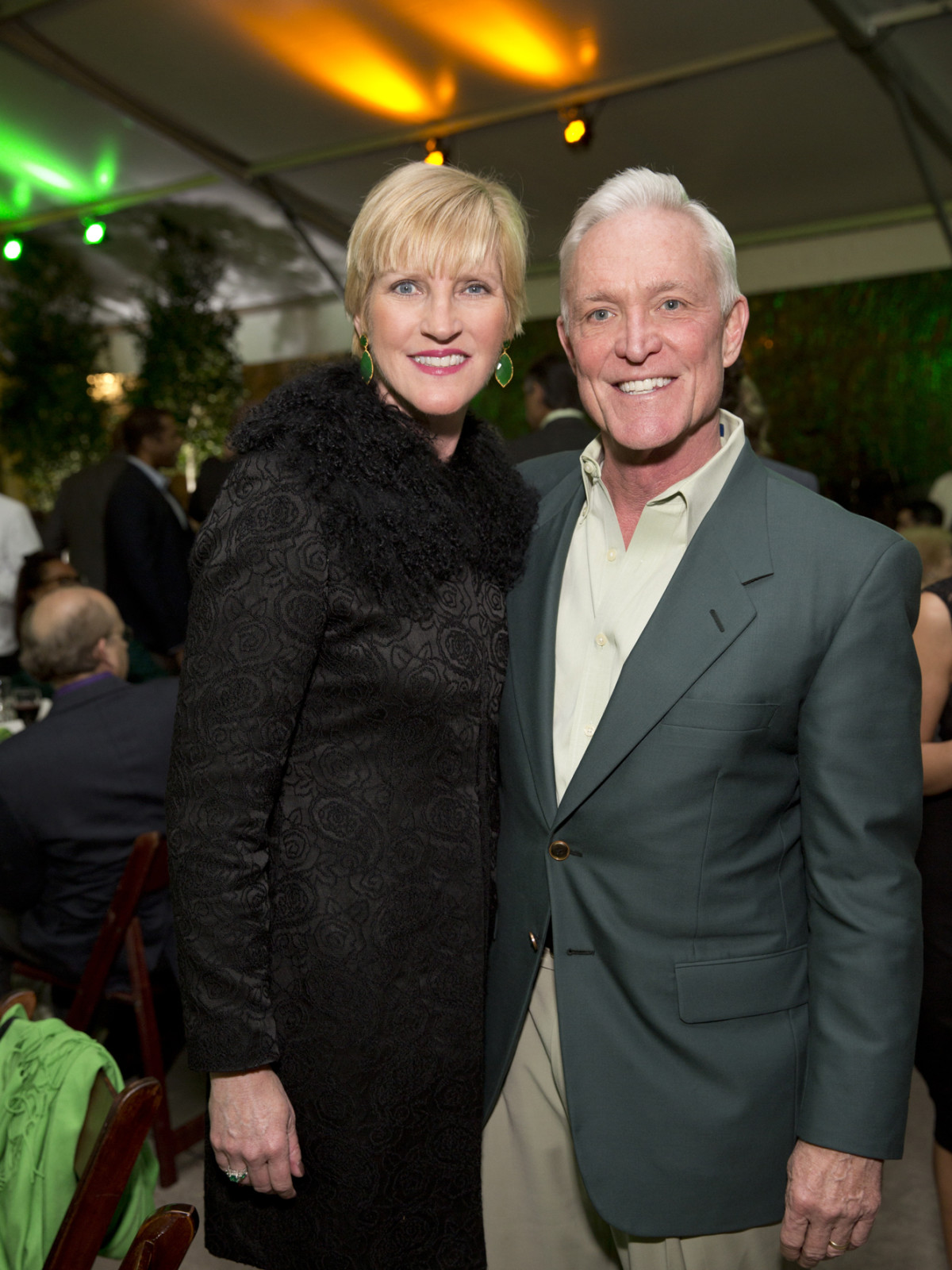 Memorial Park Conservacy Gala, Feb. 2016, Tammy and Steve Jenkins