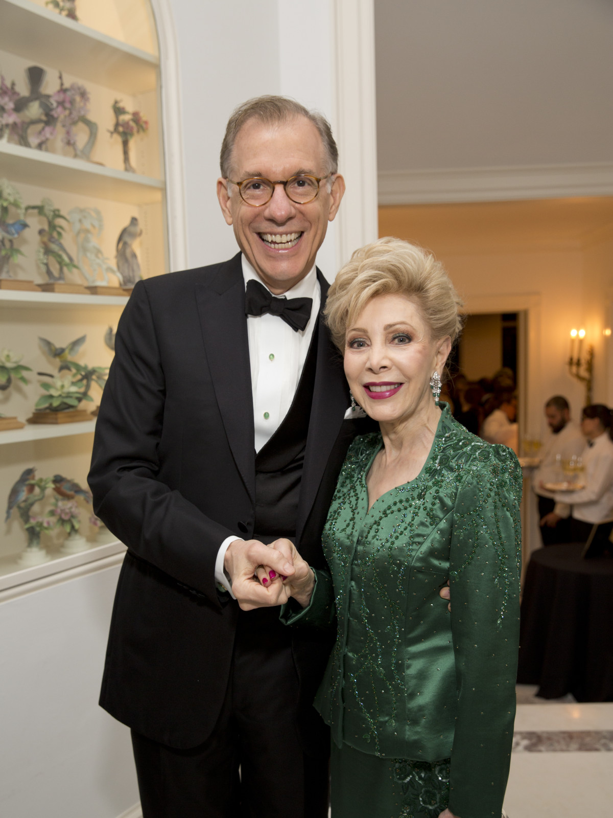 Rienzi society dinner, Feb. 2016, Gary Tinterow, Margaret Williams