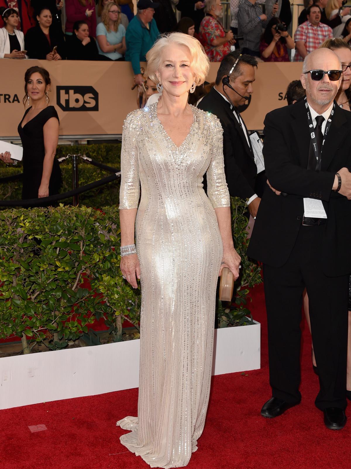Helen Mirren at Screen Actors Guild Awards