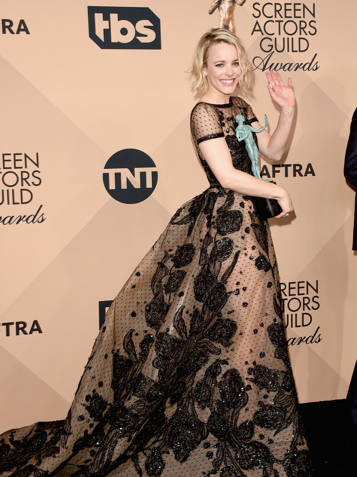 Rachel Adams at Screen Actors Guild Awards