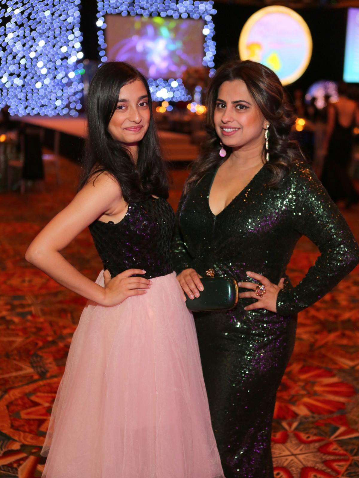 Winter Ball Women of Distinction, Jan.2016, Shruti Chakraborty and Ruchi Mujeree