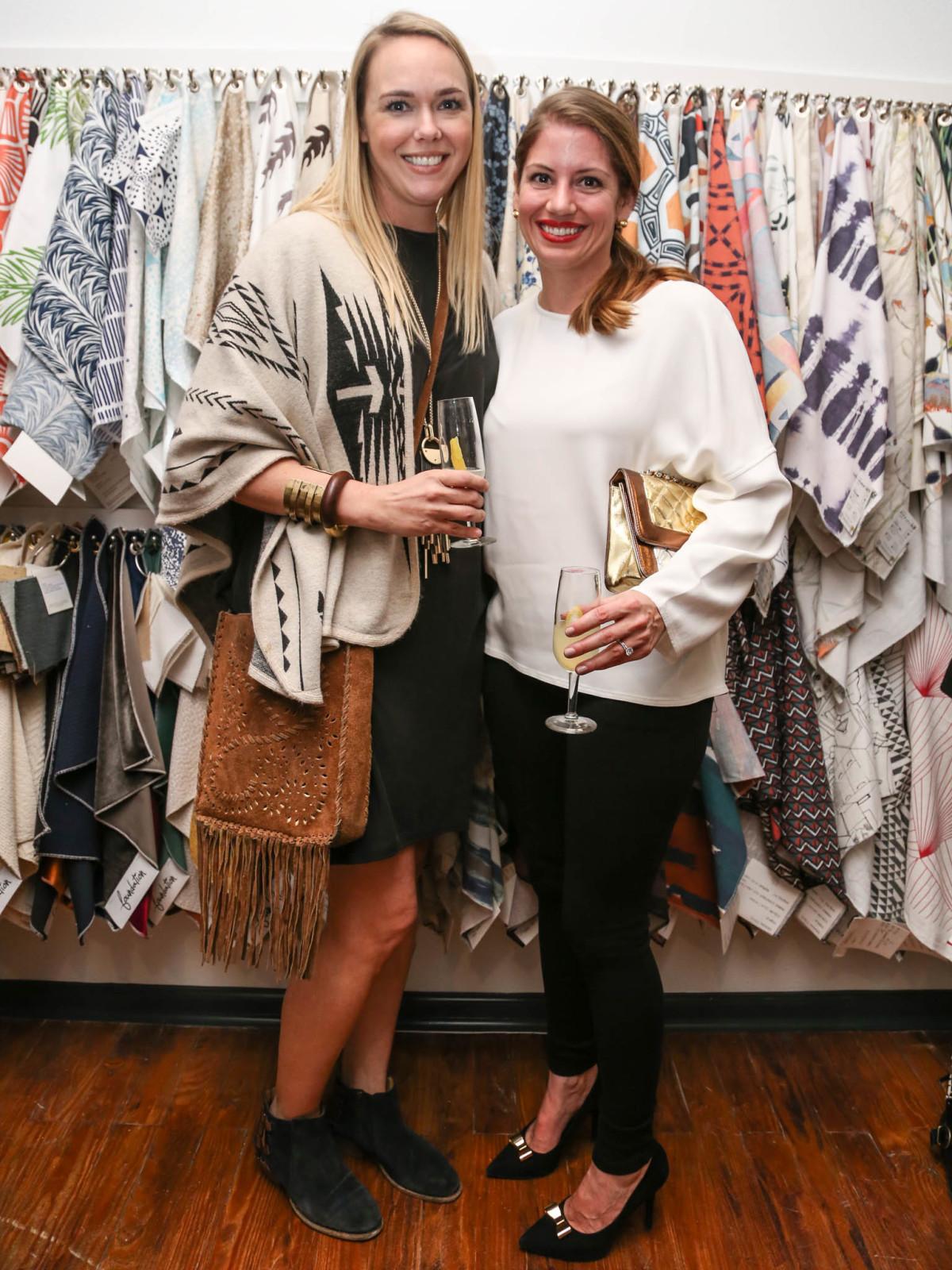 TRIBEZA Interiors Tour 2016 Kickoff at SUPPLY Showroom Melissa Daniel Christina Cole