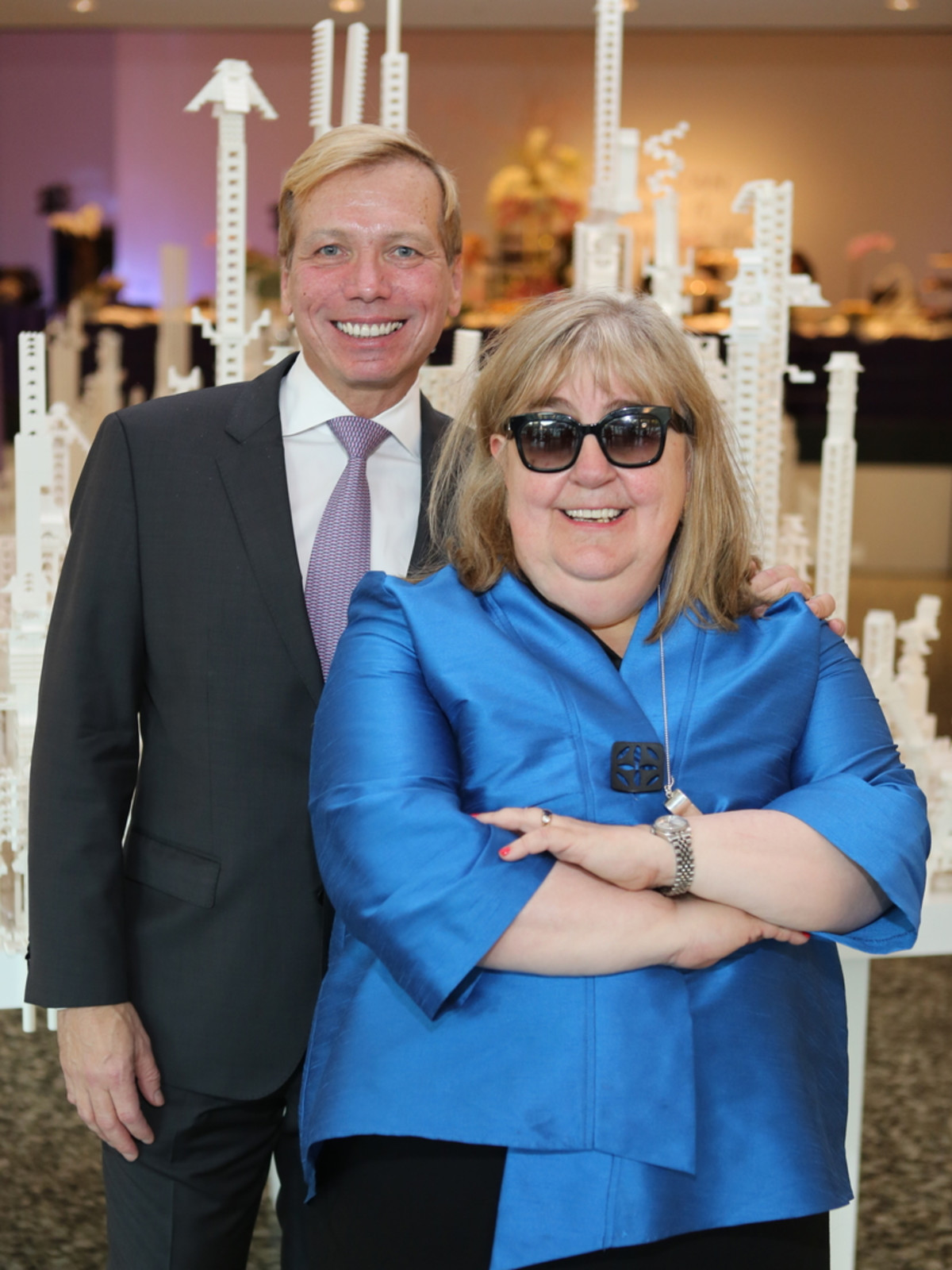 News, Mayor Sylvester Turner Inauguration, Jan. 2016, MFAH, Jonathan Glus, Cindy Clifford