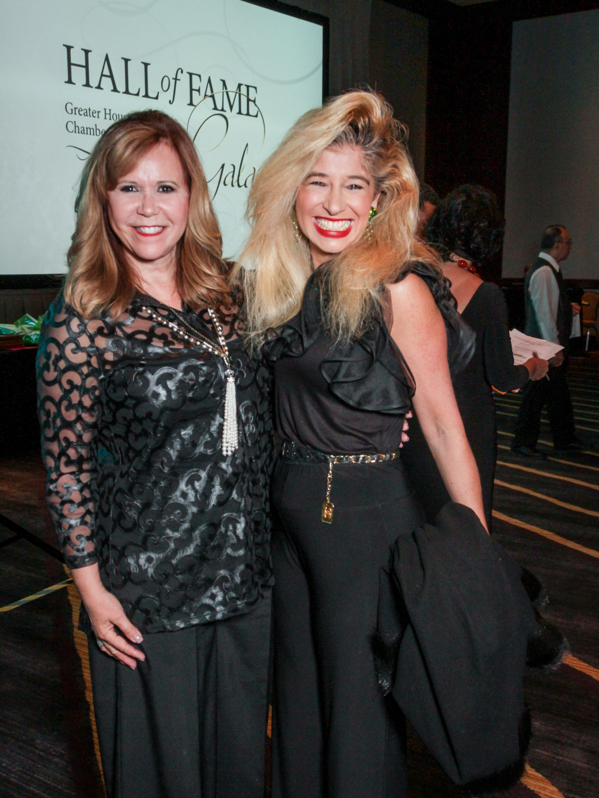 News, Greater Houston Women's Chamber of Commerce Gala, Dec. 2015, Cyndy Garza Roberts, Sofia Adrogue