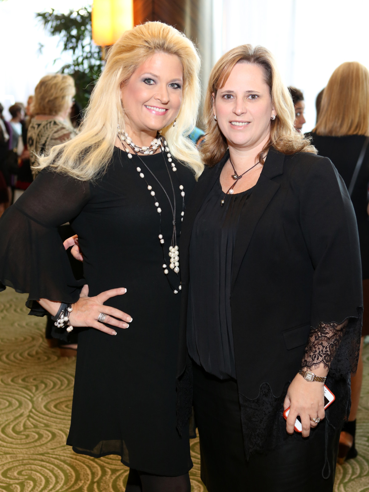 News, Shelby, Child Advocates Angels of Hope luncheon, Dec. 2015, Michelle Maresh, Renee Humphrey