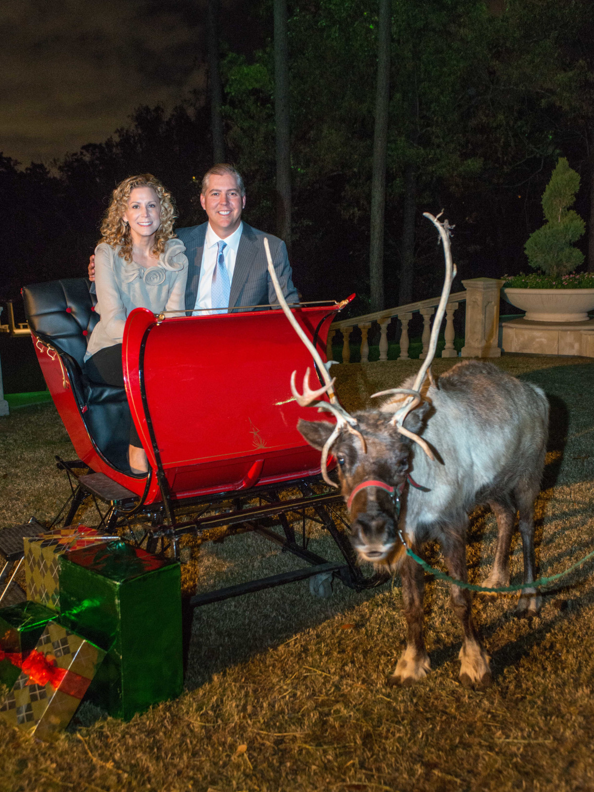 News, Shelby, MD Anderson Santa's Elves, Dec. 2015, Courtney Hill Fertitta, Jason Fertitta