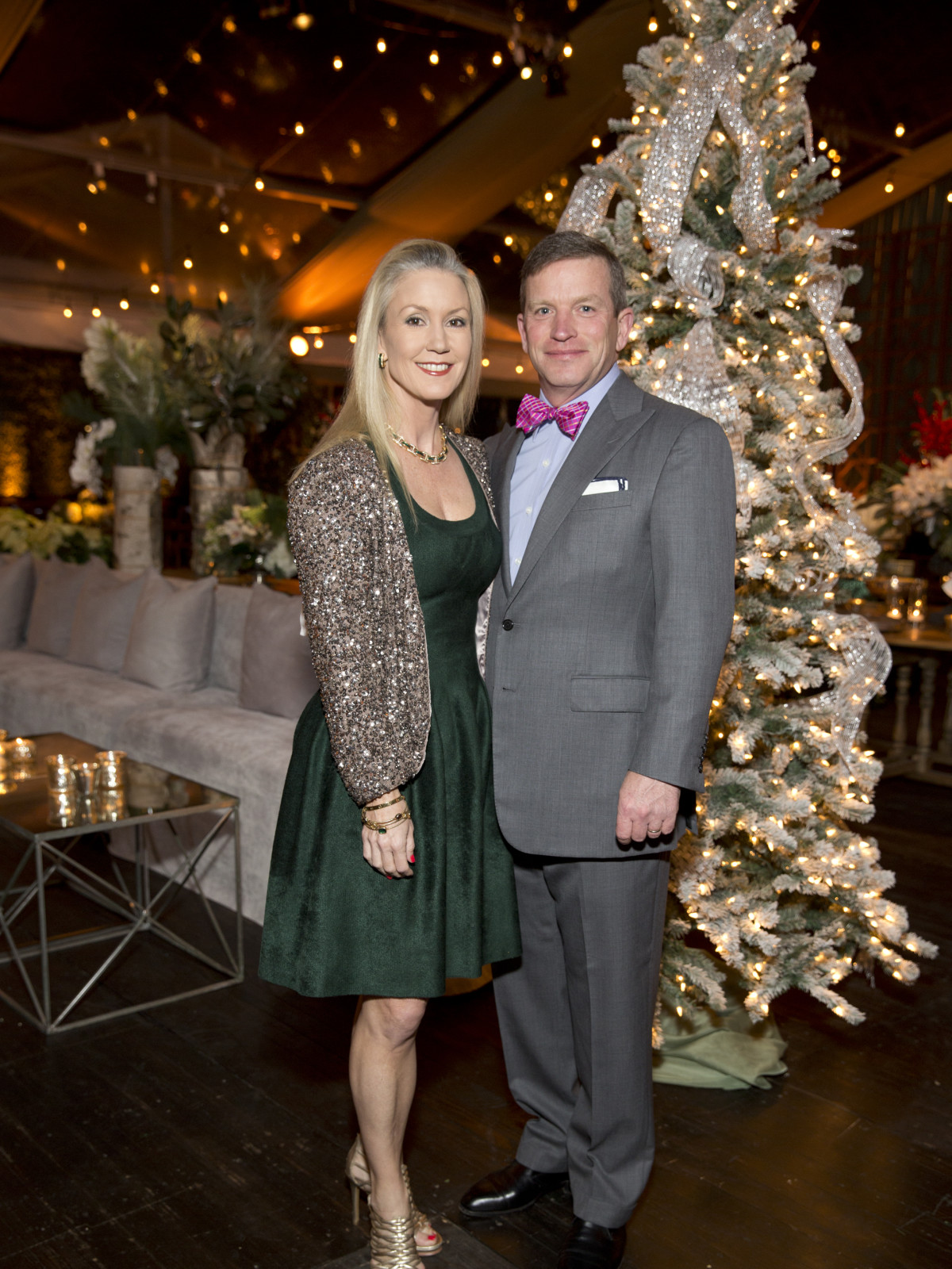 TCH Ambassadors holiday party Marita Fairbanks, JB Fairbanks