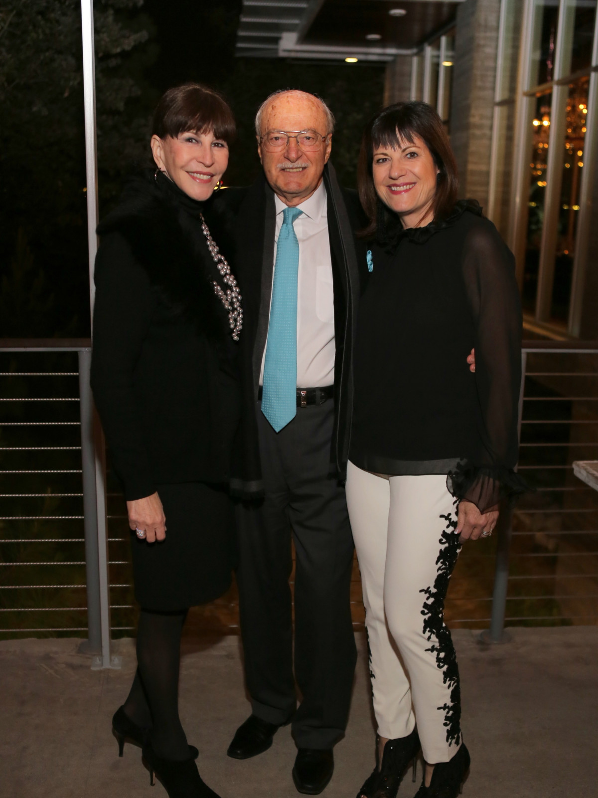 News, Equinox Opening Dinner, Dec. 2015, Shelby Hodge, Shafik Rifaat, Ellie Francisco