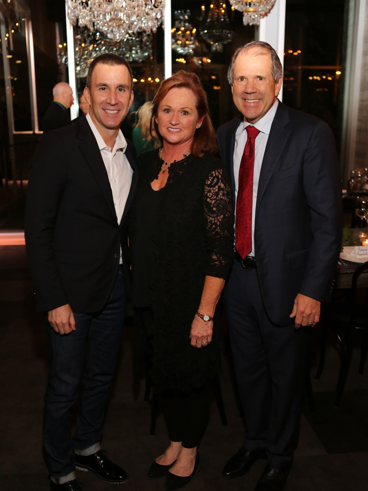 News, Equinox Opening Dinner, Dec. 2015, Harvey Spevak, Mo Campo, Ric Campo