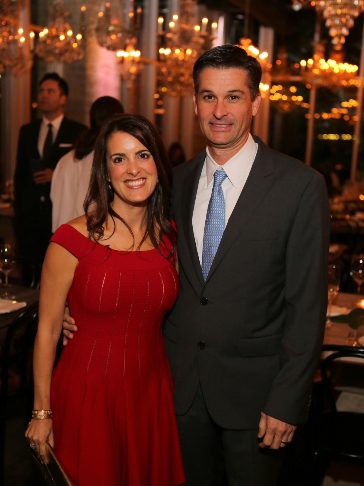 News, Equinox Opening Dinner, Dec. 2015, cute couple