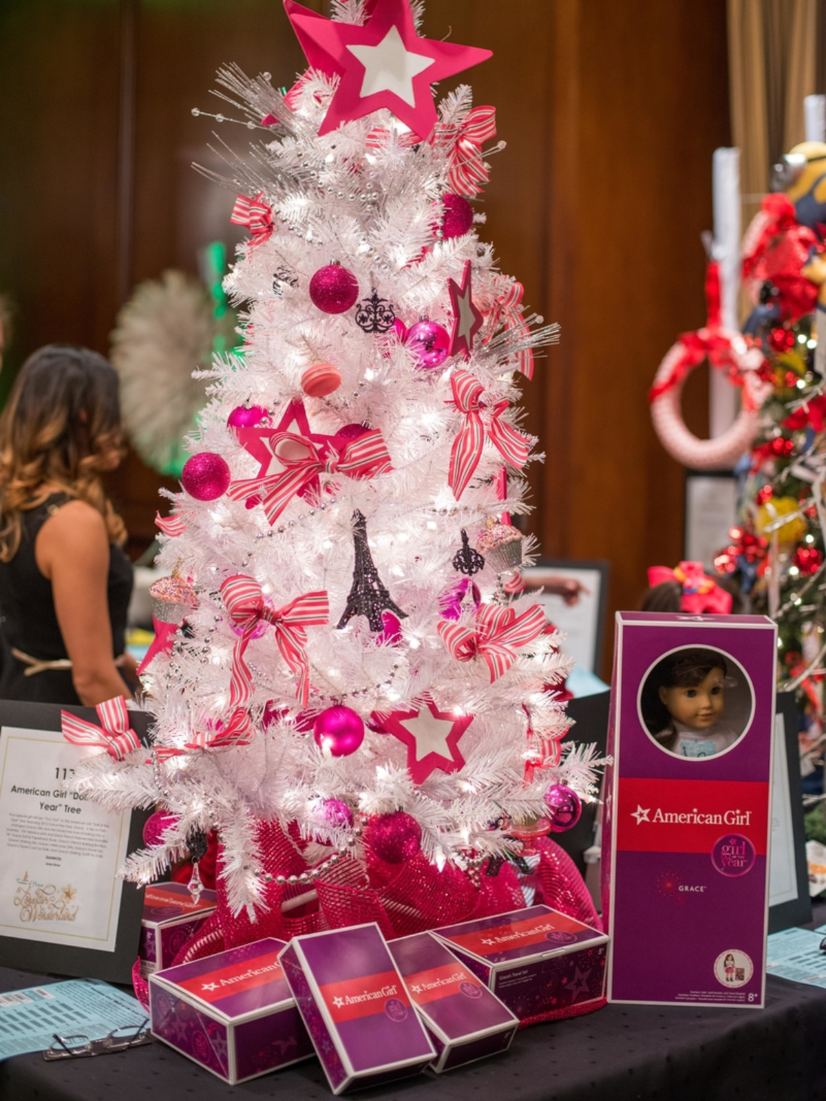 News, Shelby, Trees of Hope, Nov. 2015 American Girl Tree