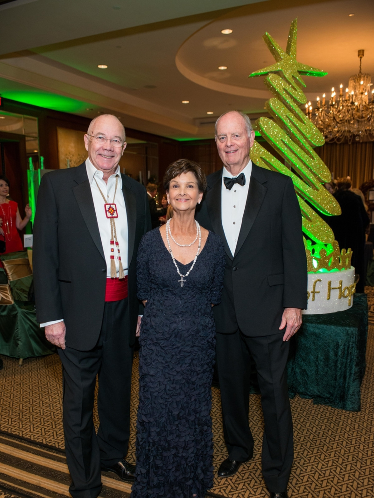 News, Shelby, Trees of Hope, Nov. 2015 Steve Smith, Martha Hunt, Jim Hunt