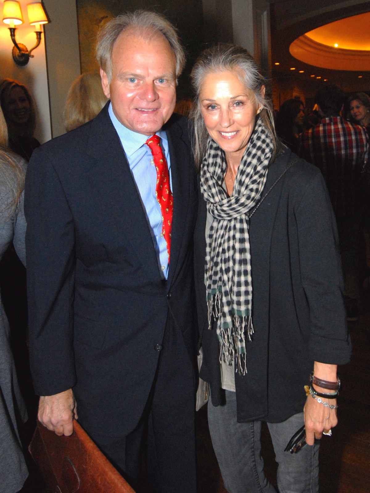 Dan Linscomb and Pam Kuhl-Linscomb at Salute to Retail luncheon