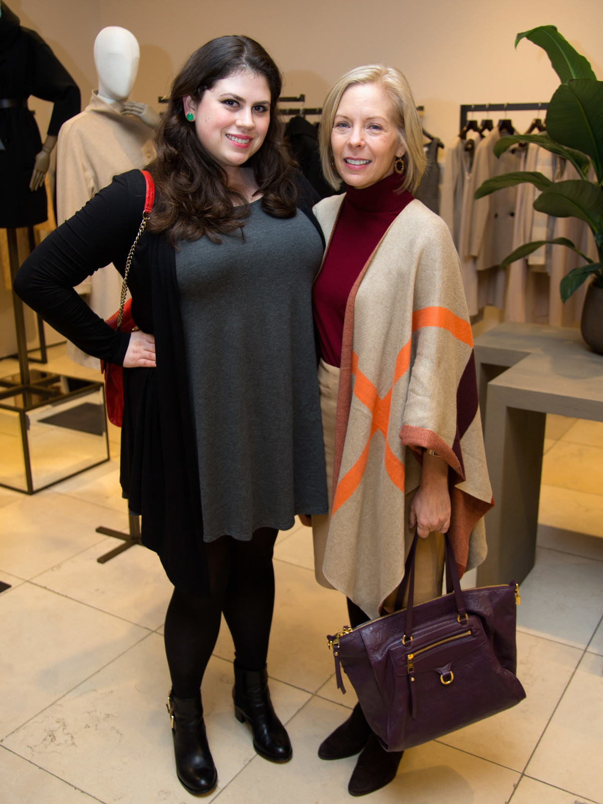 Max Mara William Wegman event Meghan Thrash, Karen Sumner