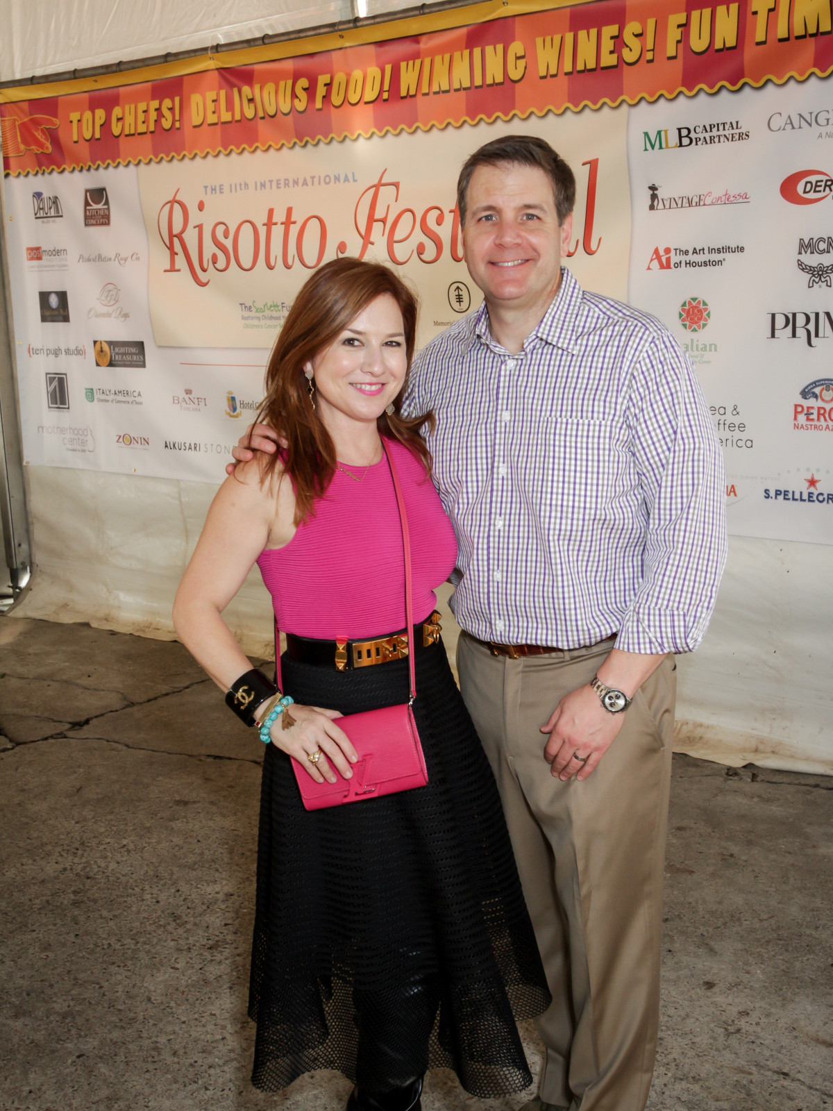 Risotto Festival Donae and Rob Chramosta