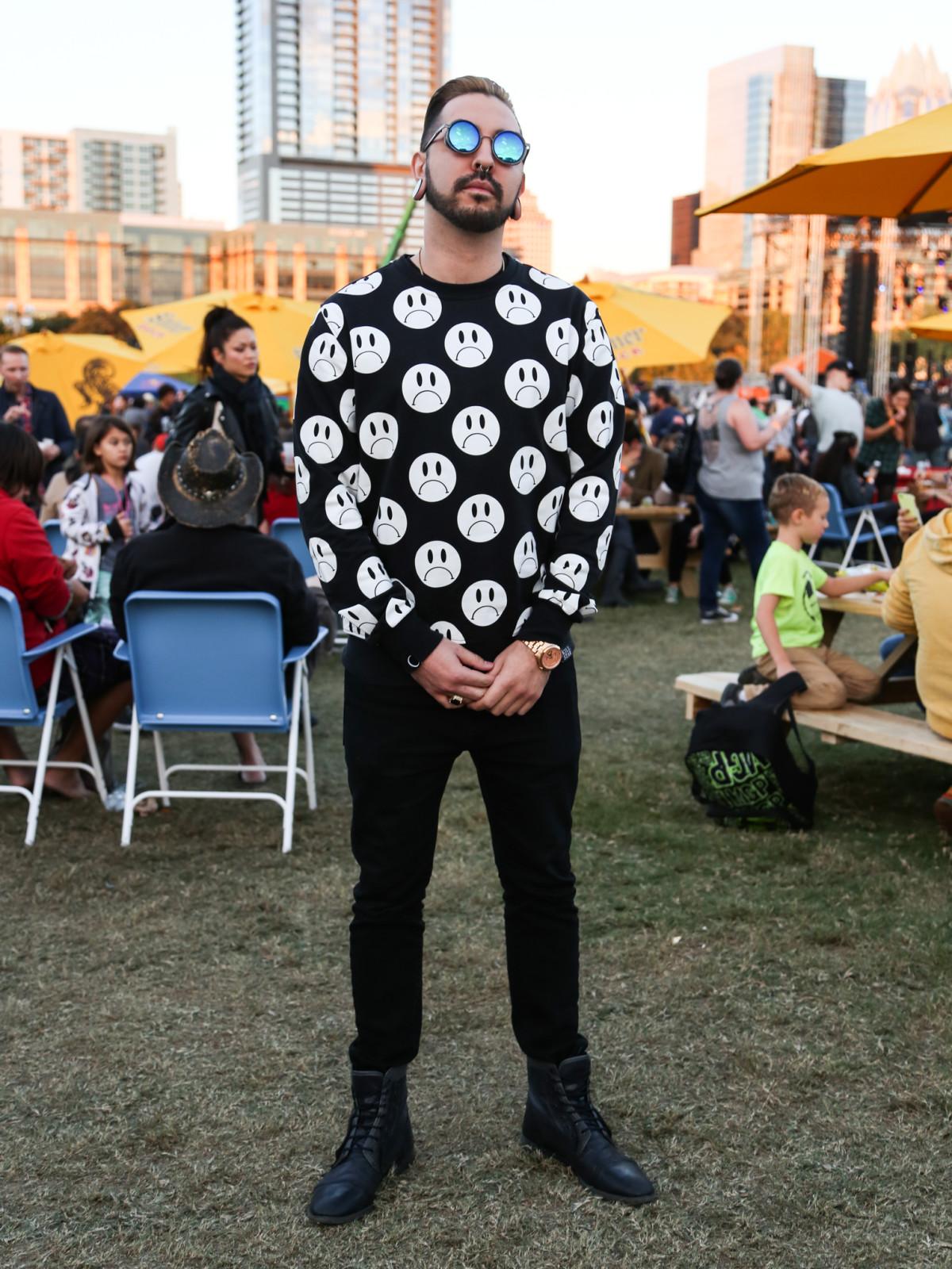 Fun Fun Fun Fest 2015 Fashion Style Josh Vela