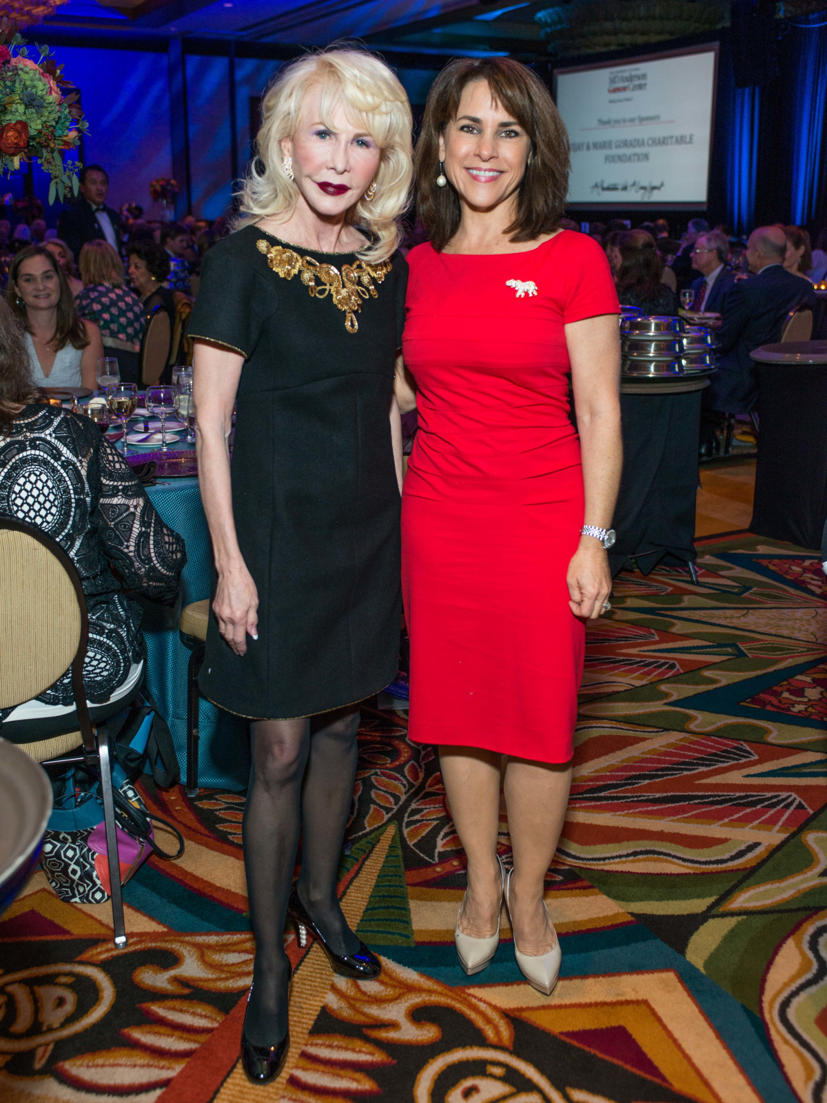 News, Shelby, MD Anderson Living Legend, Nov. 2015, Diane Lokey Farb, Maria Bush