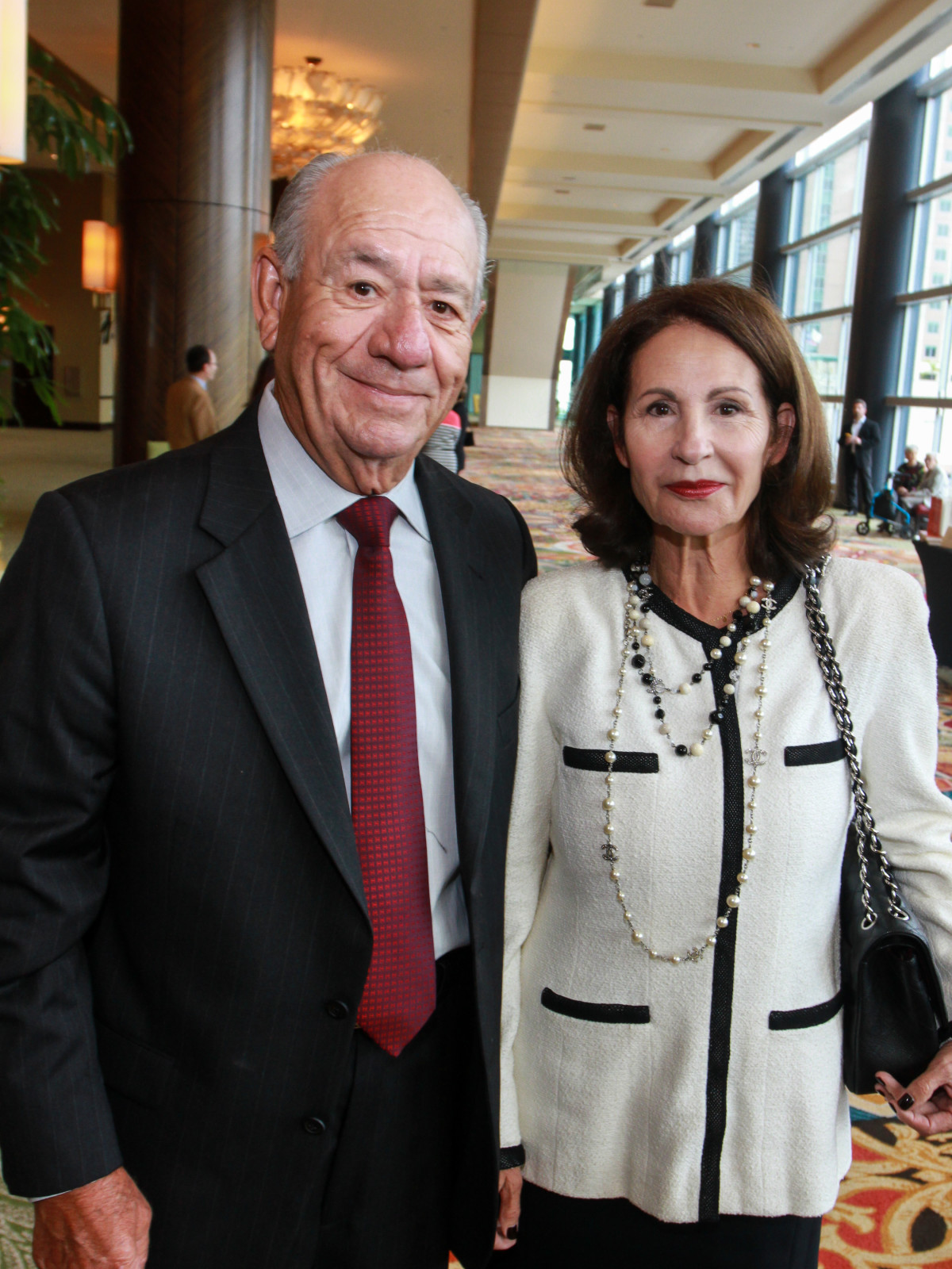 News, Shelby, Holocaust museum luncheon, Nov. 2015,  Rigo Flores, Araceli Flores.