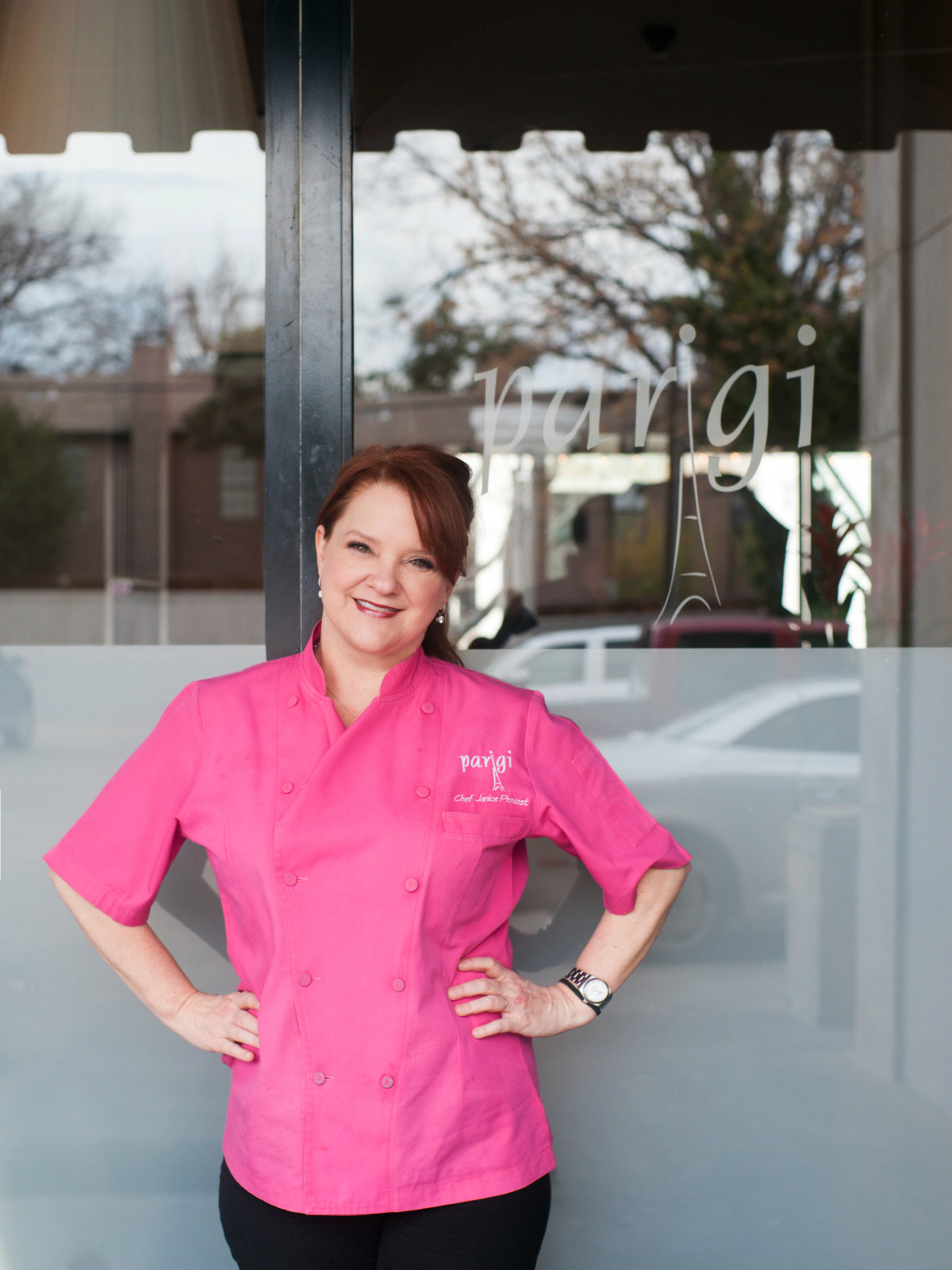 Chef Janice Provost Parigi restaurant in Dallas