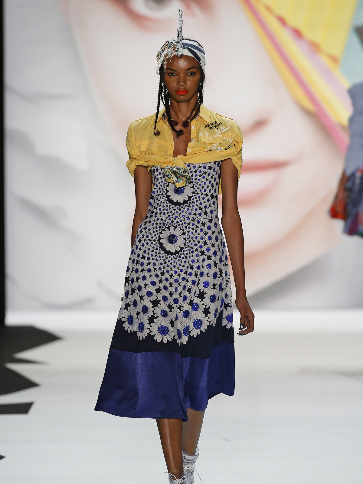 Desigual spring 2016 collection look 17