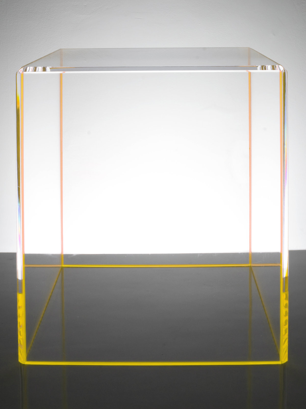 Alexandra von Furstenberg On-the-Rocks yellow end table