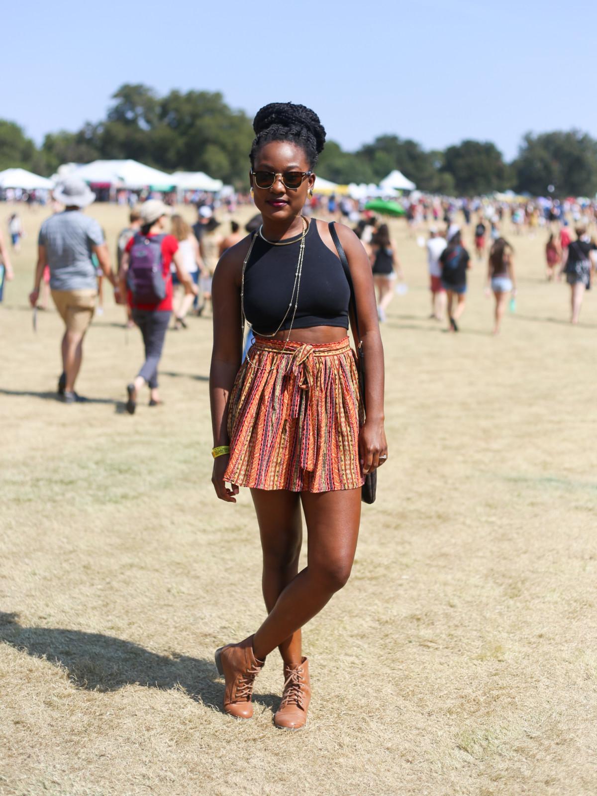 Austin City Limits Festival ACL 2015 Street Style Rochelle Marrett