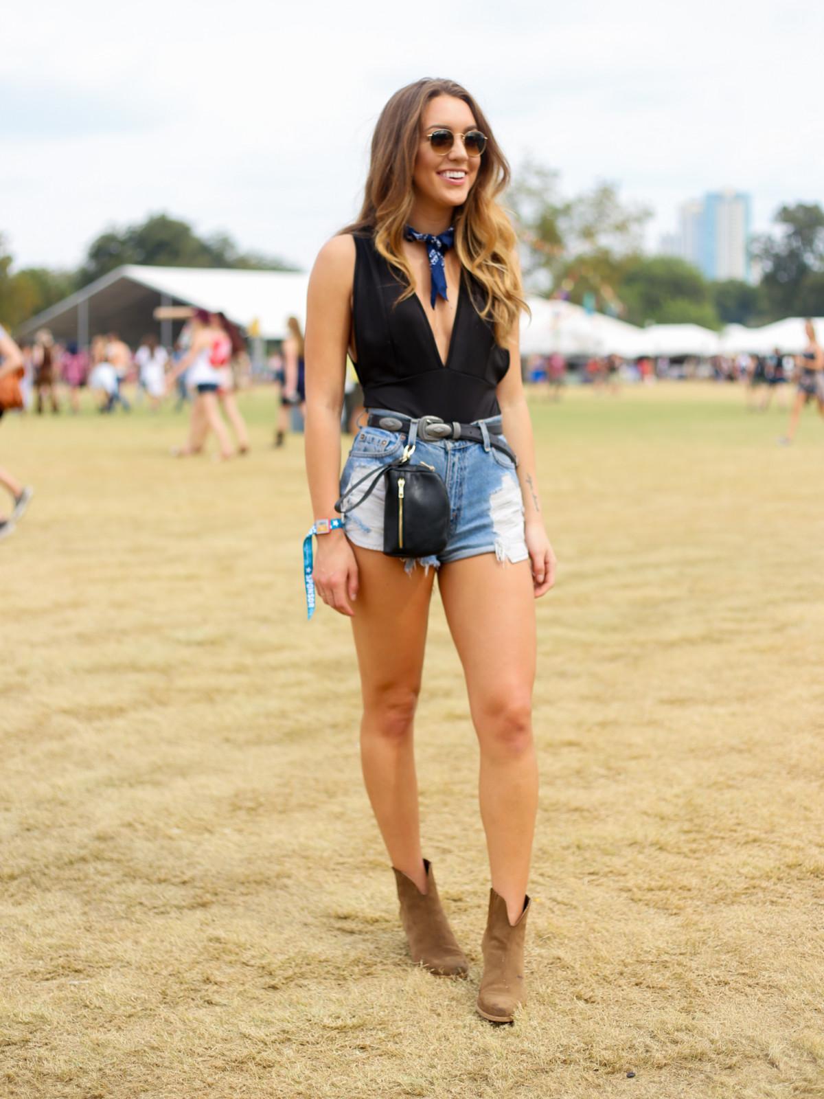 Austin City Limits Festival ACL 2015 Street Style Natalie Rychart