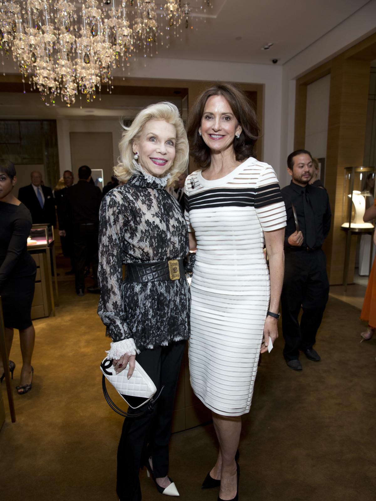 News, Shelby, Cartier Opening, oct. 2015, Lynn Wyatt, Laurie Morian