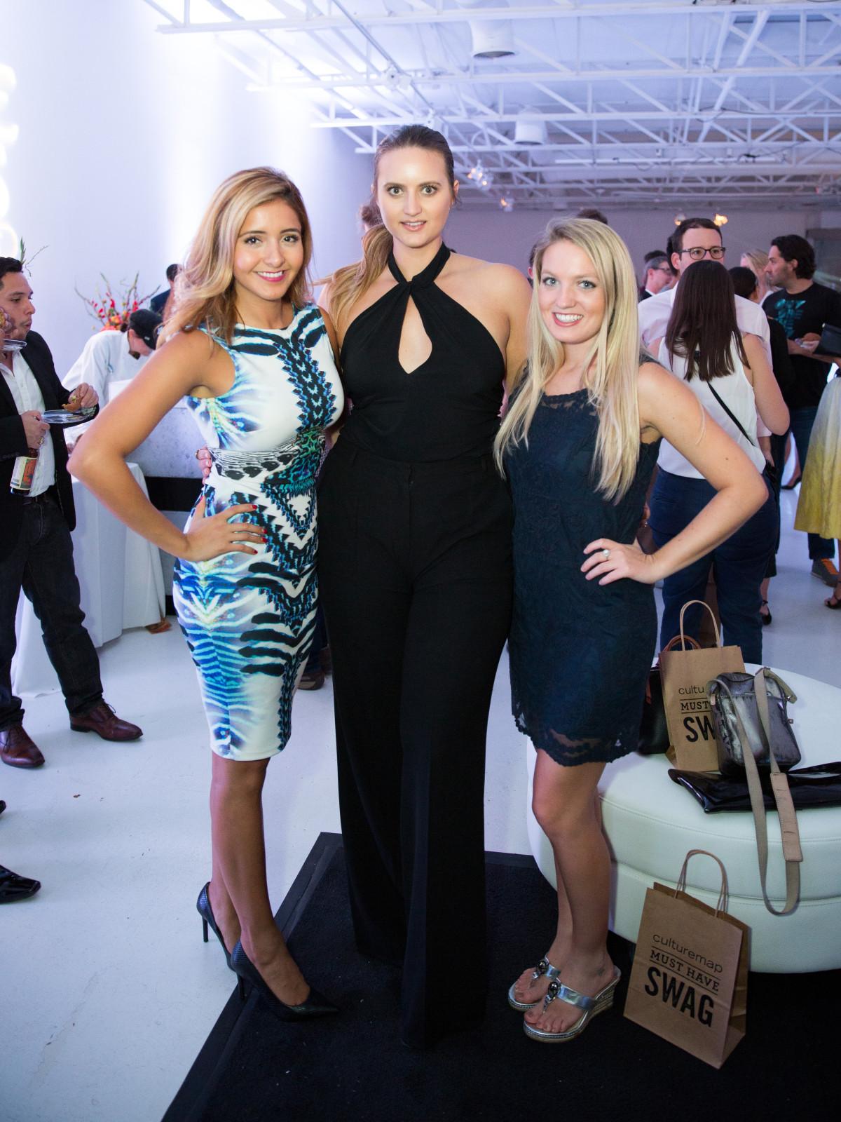 Valeria Rodriguez, Jessica Carbone, Haley Jo Schwab