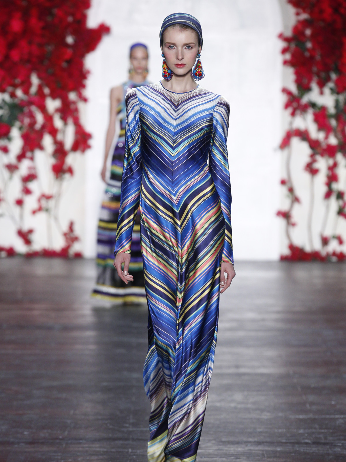 Naeem Khan spring summer 2016 collection look 13