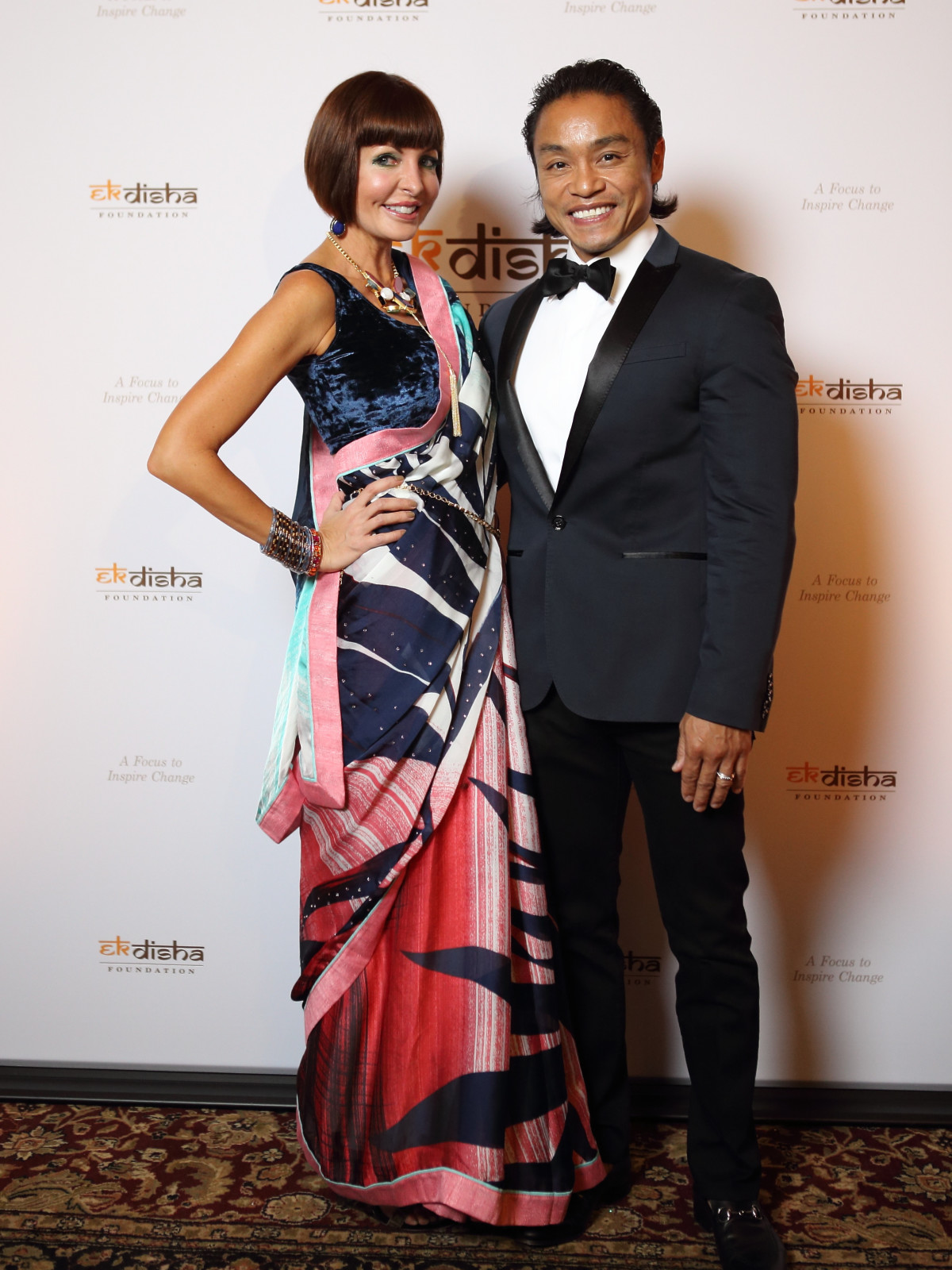 Bass Gala 2015 Staci Henderson and Dr. Quang Henderson