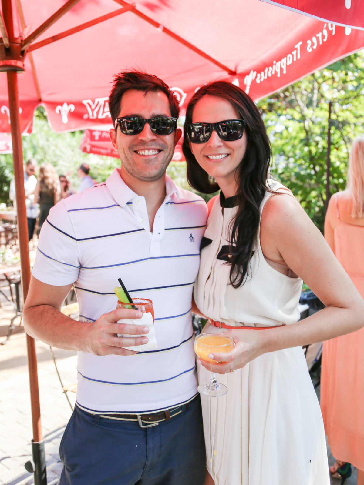 Tribeza Style Brunch 2015 at Justine's Brasserie Matthew Heagerty Jessica Lokaj