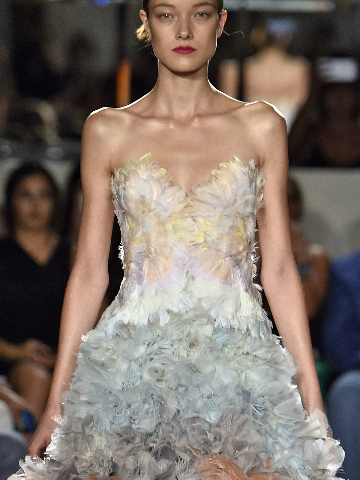 Marchesa spring 2016 collection detail shot