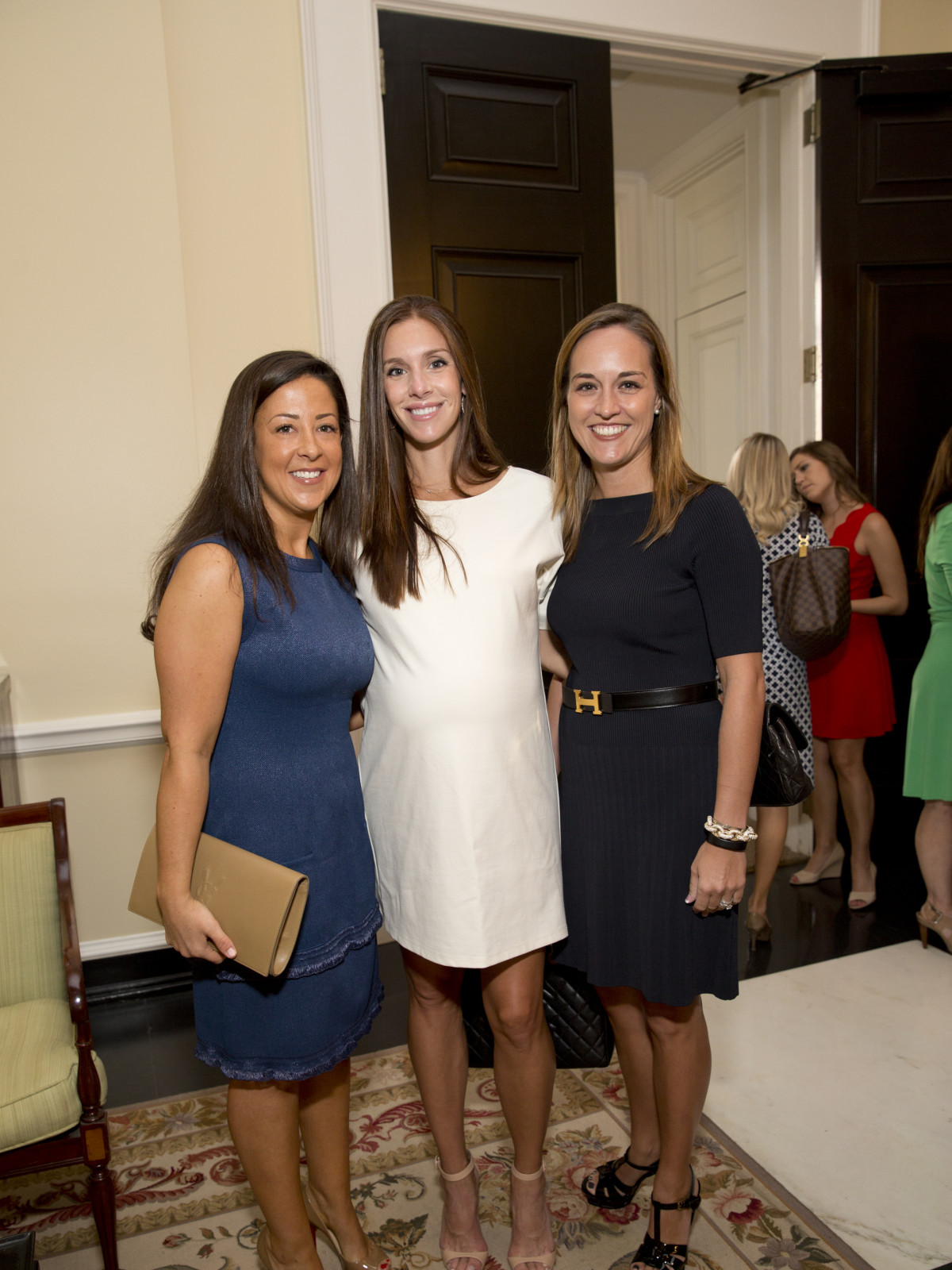 News, Shelby, Small Steps luncheon, Sept. 2015, Lucy Carter, Lane Bowden, and Meredith Turne