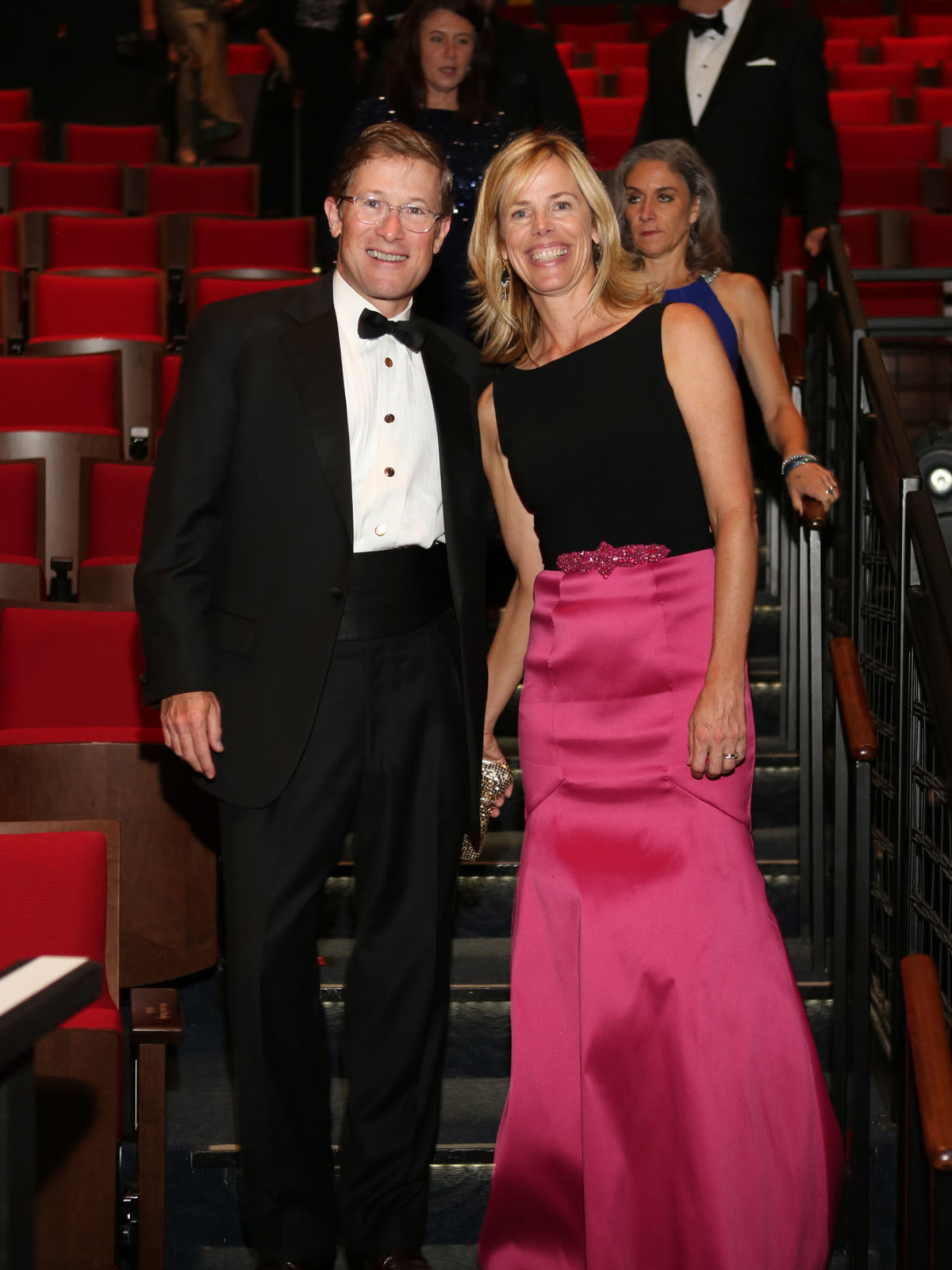 News, Shelby, Alley Theatre opening, September 2015, Edward and Julie Griffin