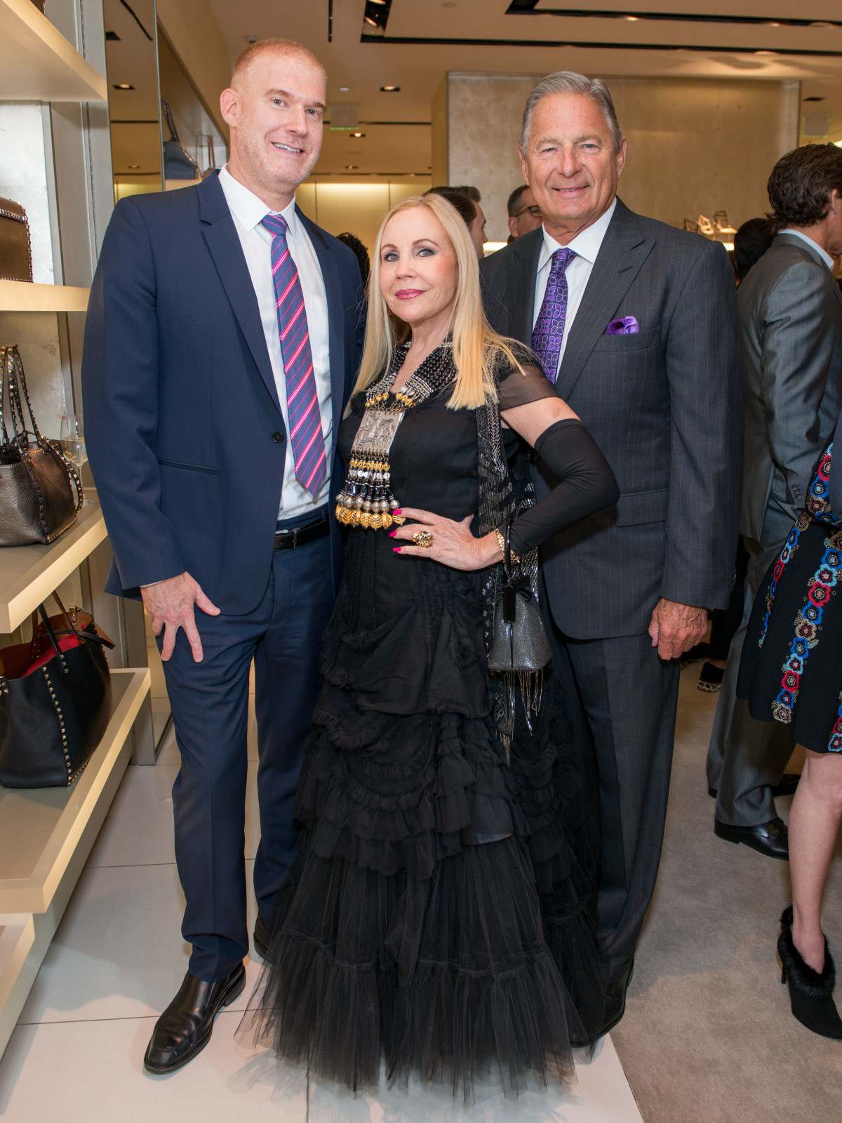 News, Shelby, Heart of Fashion, Valentino, Sept. 2015, Gary Soloff, Carolyn Farb, Charles Ward